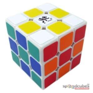 DaYan 5 Zhanchi 3x3x3  (черный/белый)