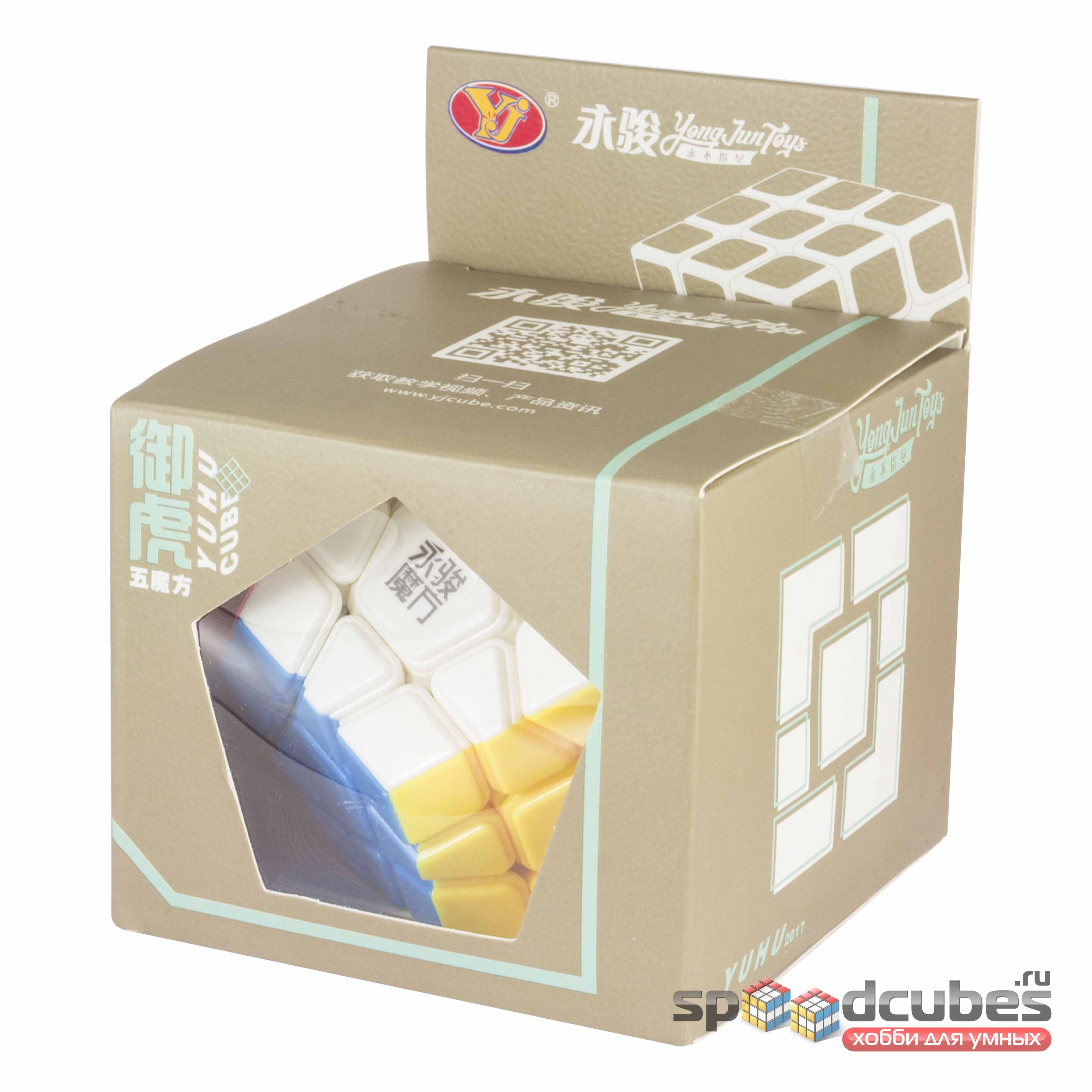MoYu (YJ) Megaminx Yuhu R (цв) 3