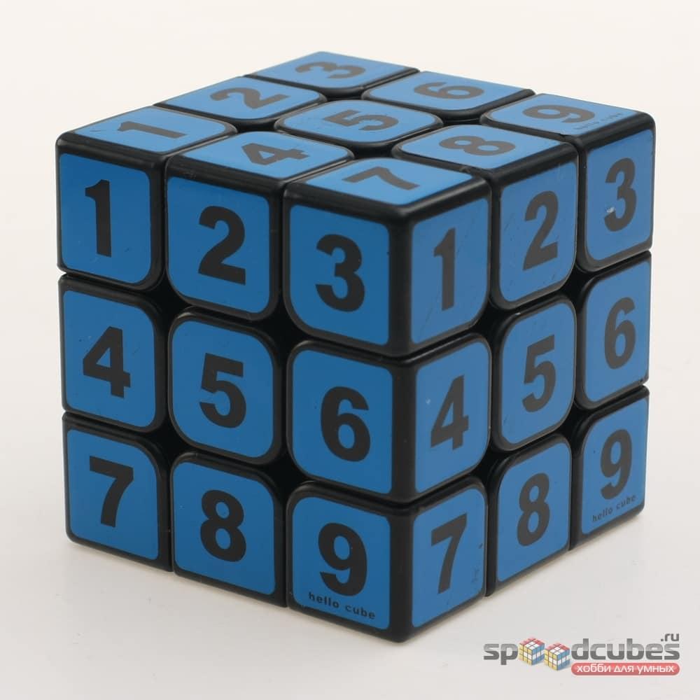 Z 3x3x3 Sudoku V1 (синий)