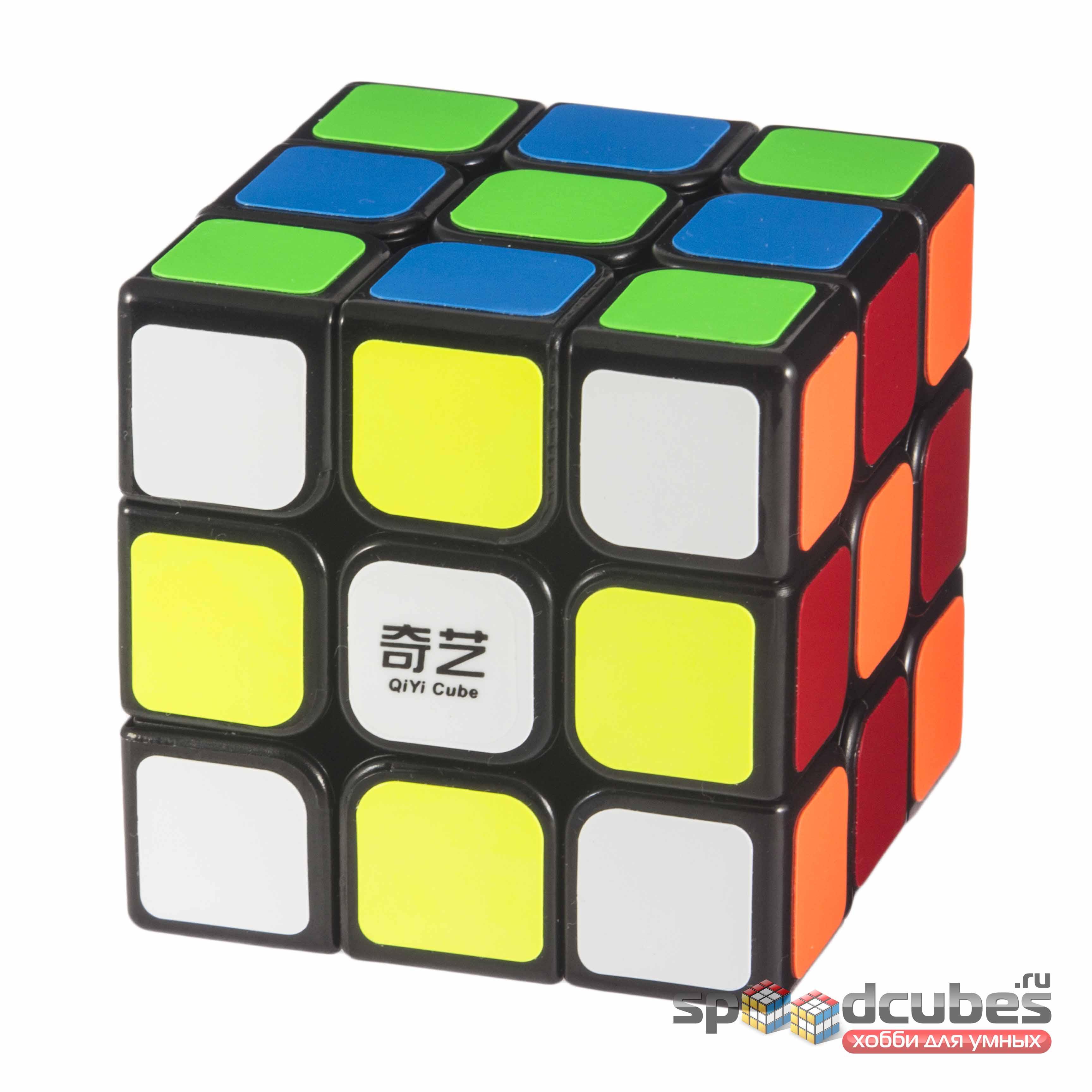 Qiyi Mofangge 3x3x3 Qihang Sail Black 2