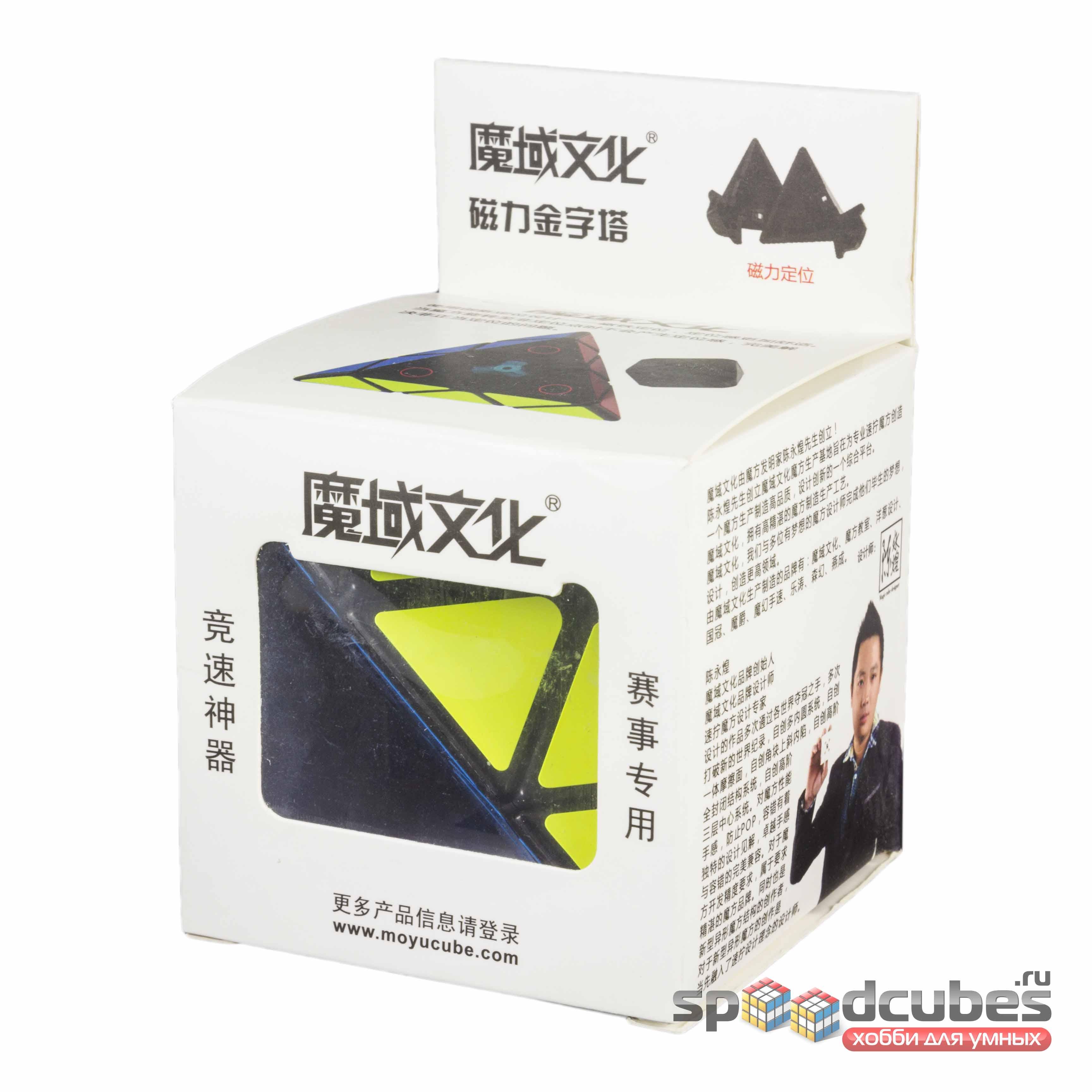 MoYu Magnetic Pyraminx Black 1