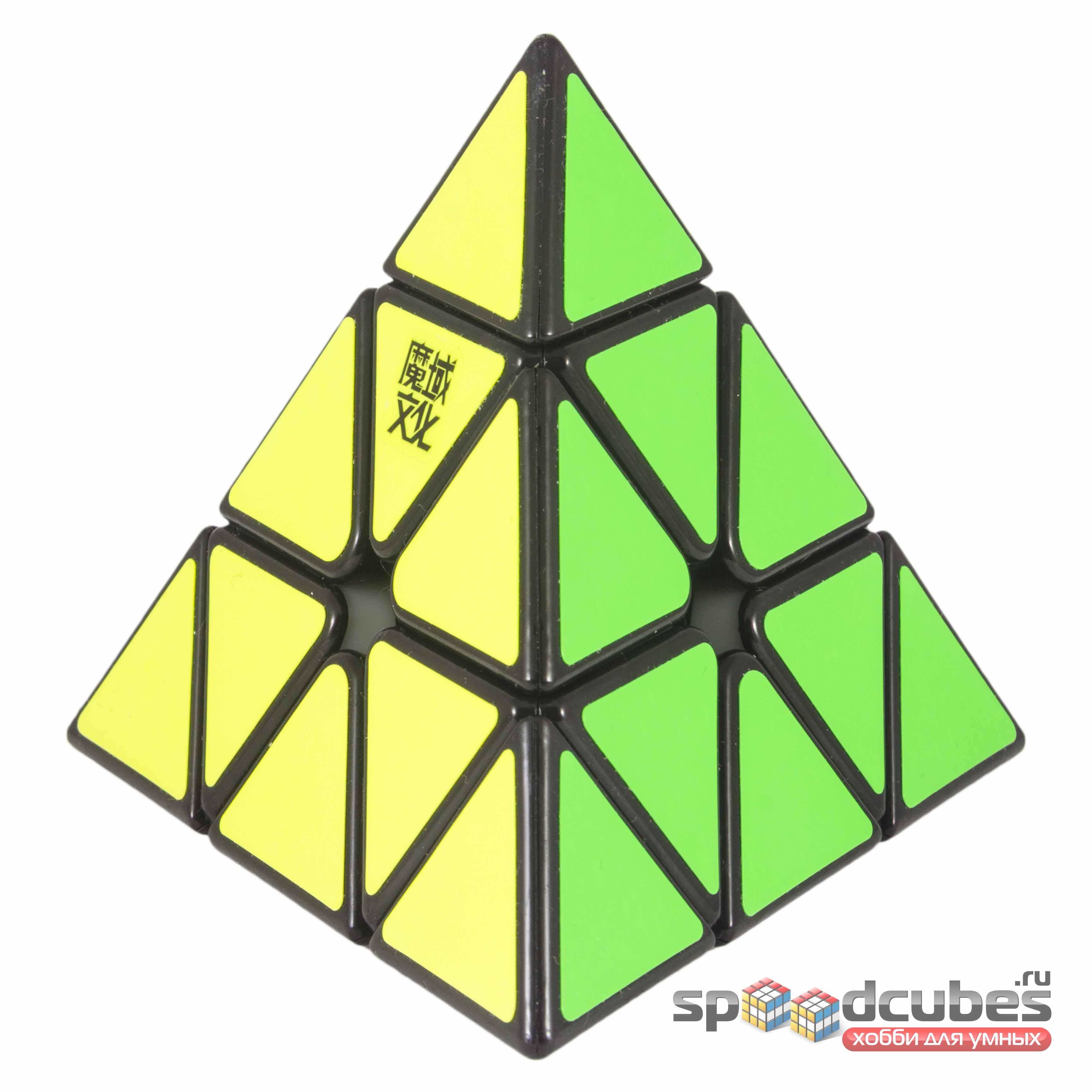 MoYu Magnetic Pyraminx Black 2