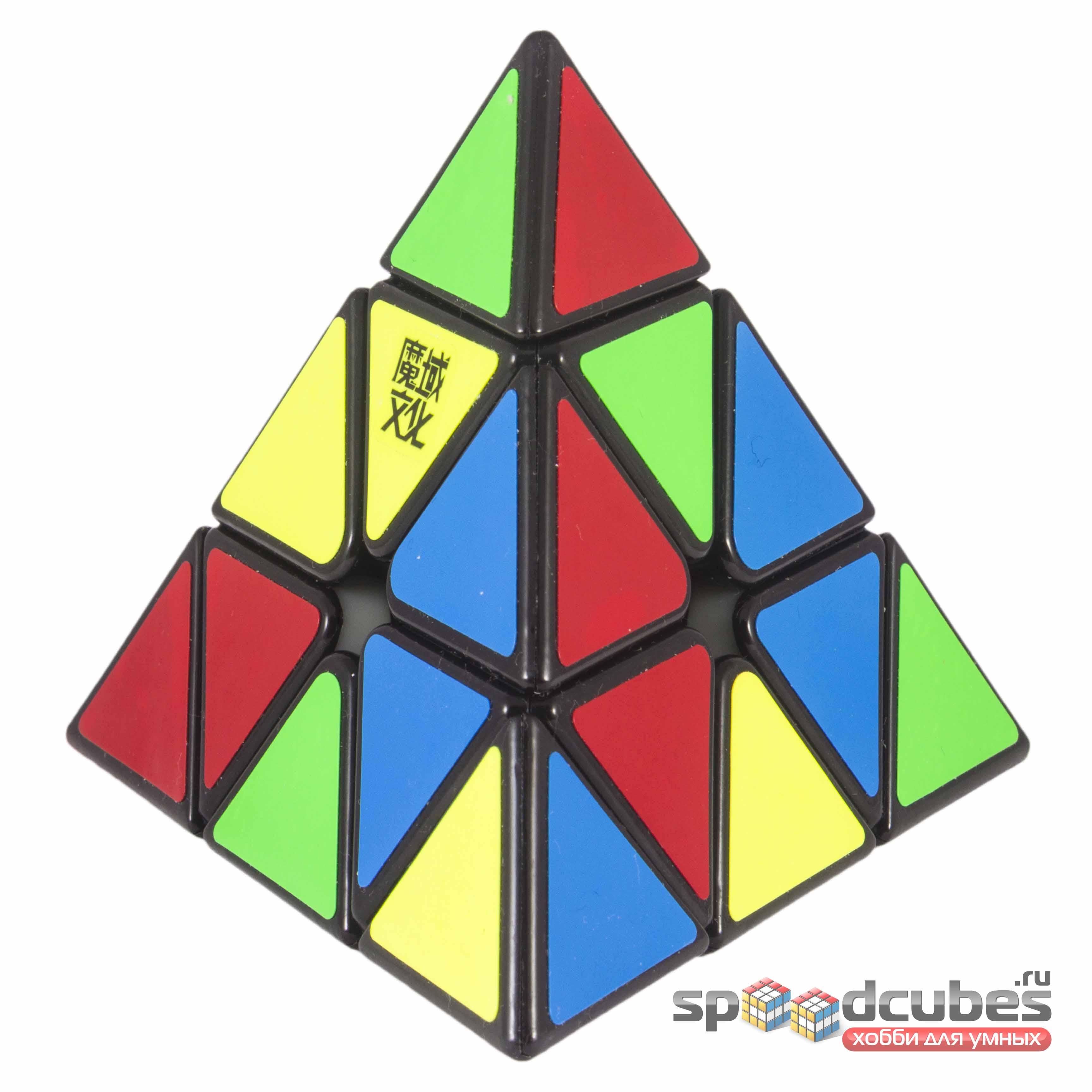 MoYu Magnetic Pyraminx Black 3