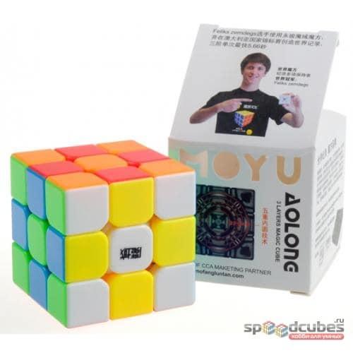 Moyu 3×3 Aolong Mini 02
