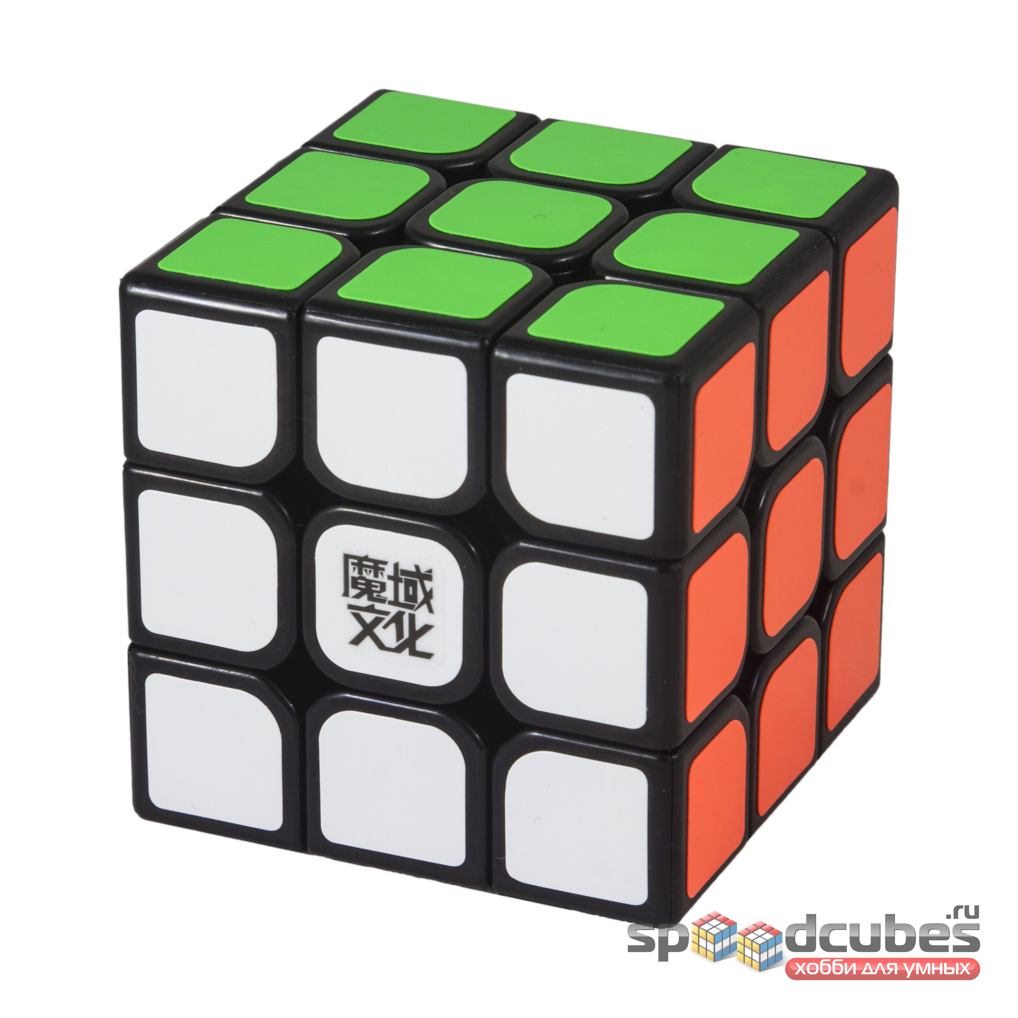 Moyu 3x3x3 Aolong V2 Black 1