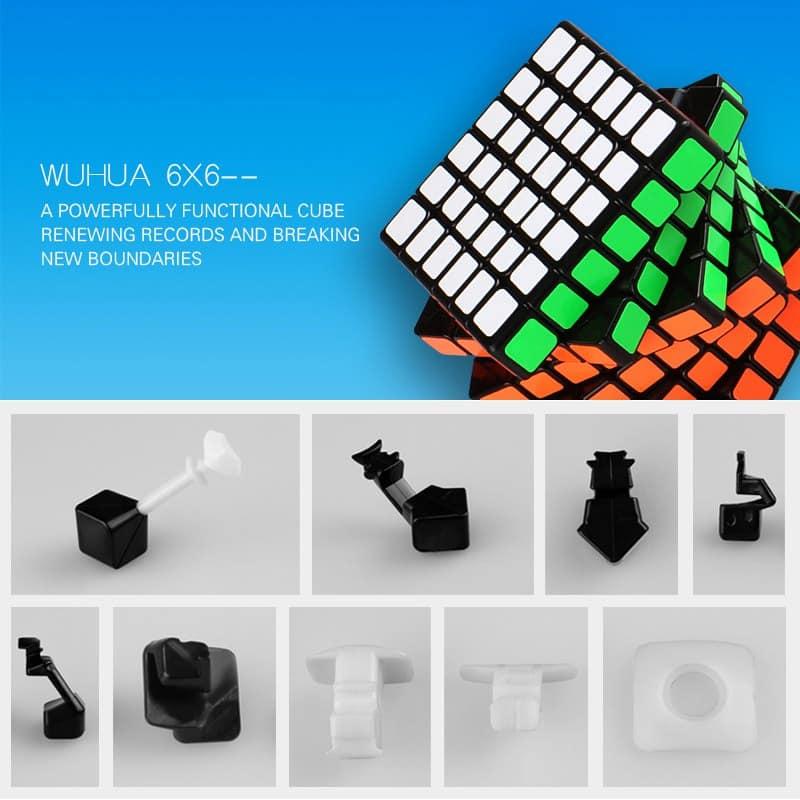 Qiyi 6x6x6 Wuhua 6