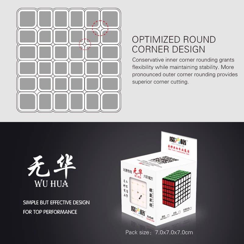 Qiyi 6x6x6 Wuhua 7