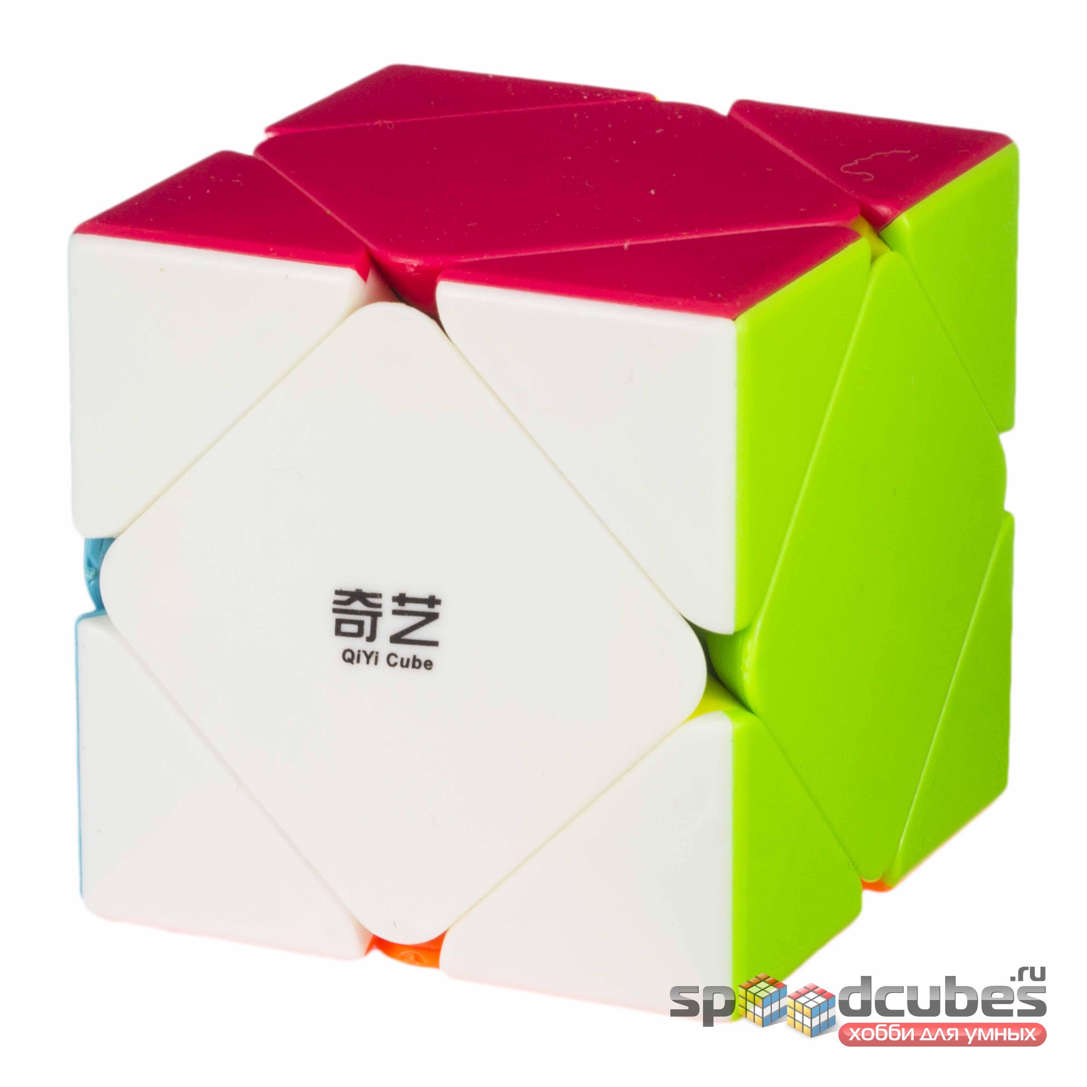 QiYi (MoFangGe) Qicheng Skewb Color 2
