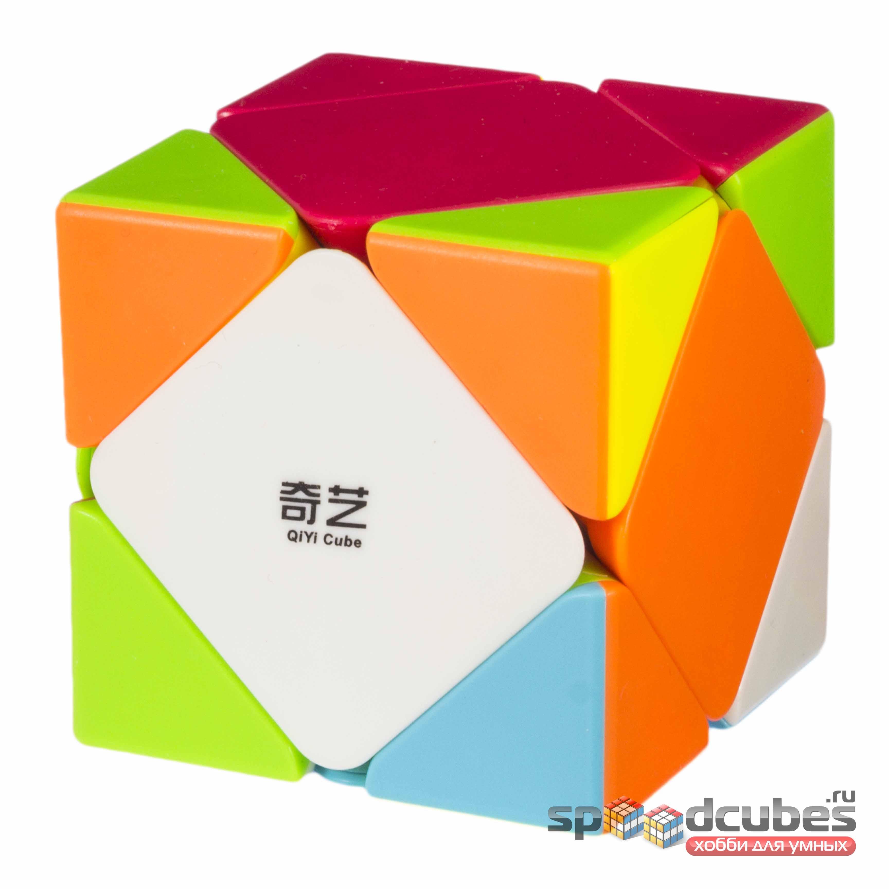 QiYi (MoFangGe) Qicheng Skewb Color 3
