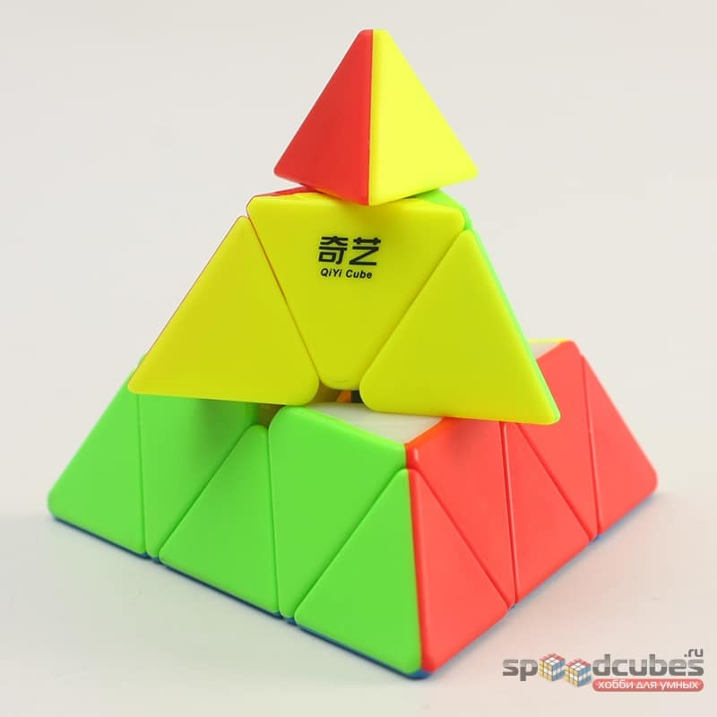 QiYi (MoFangGe) Qiming Pyraminx (цв)