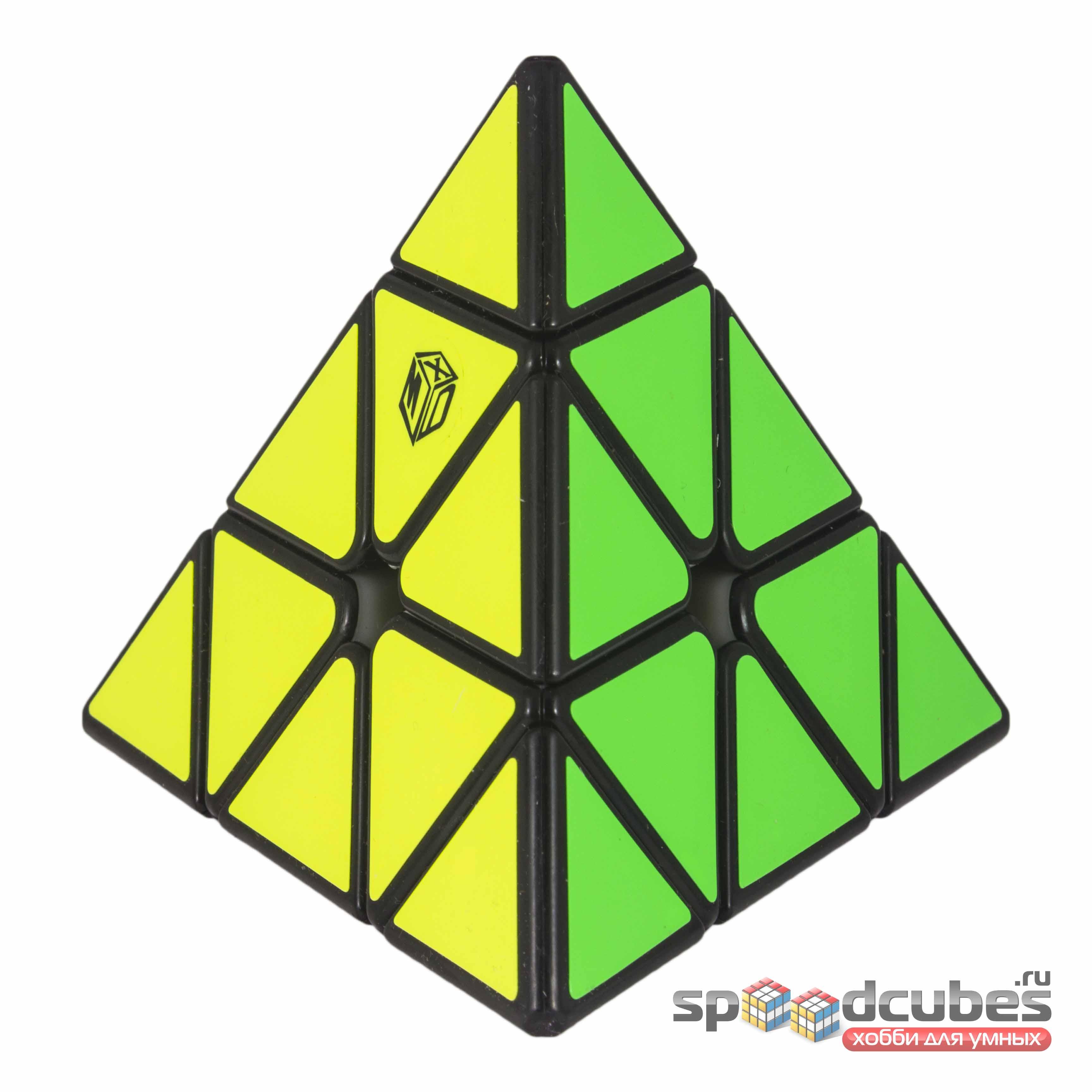 QiYi (MoFangGe) X Man Magnetic Pyraminx Black 2