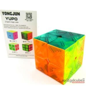 MoYu (YJ) 2x2x2 Yupo (прозр)