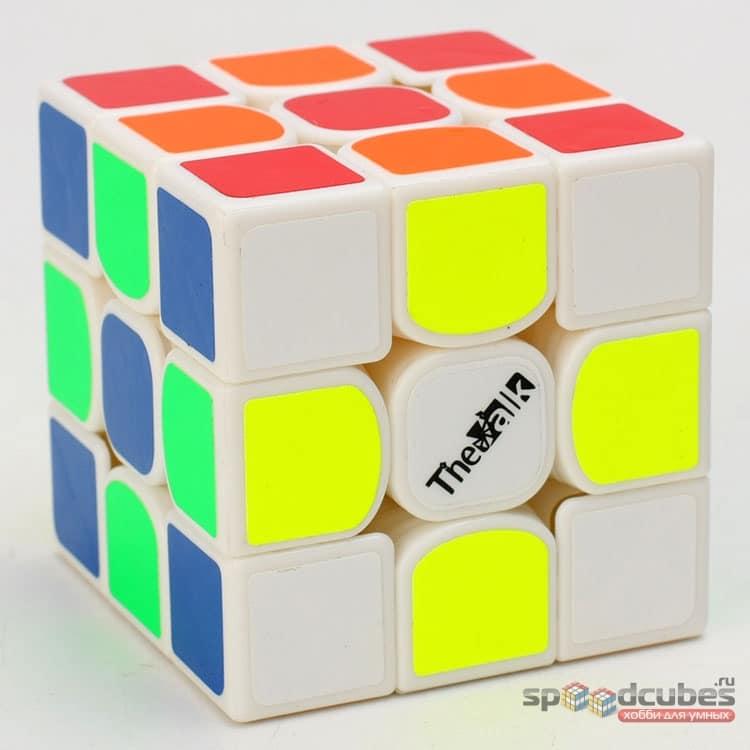QiYi (MoFangGe) 3x3x3 Valk 3 (черный/белый)