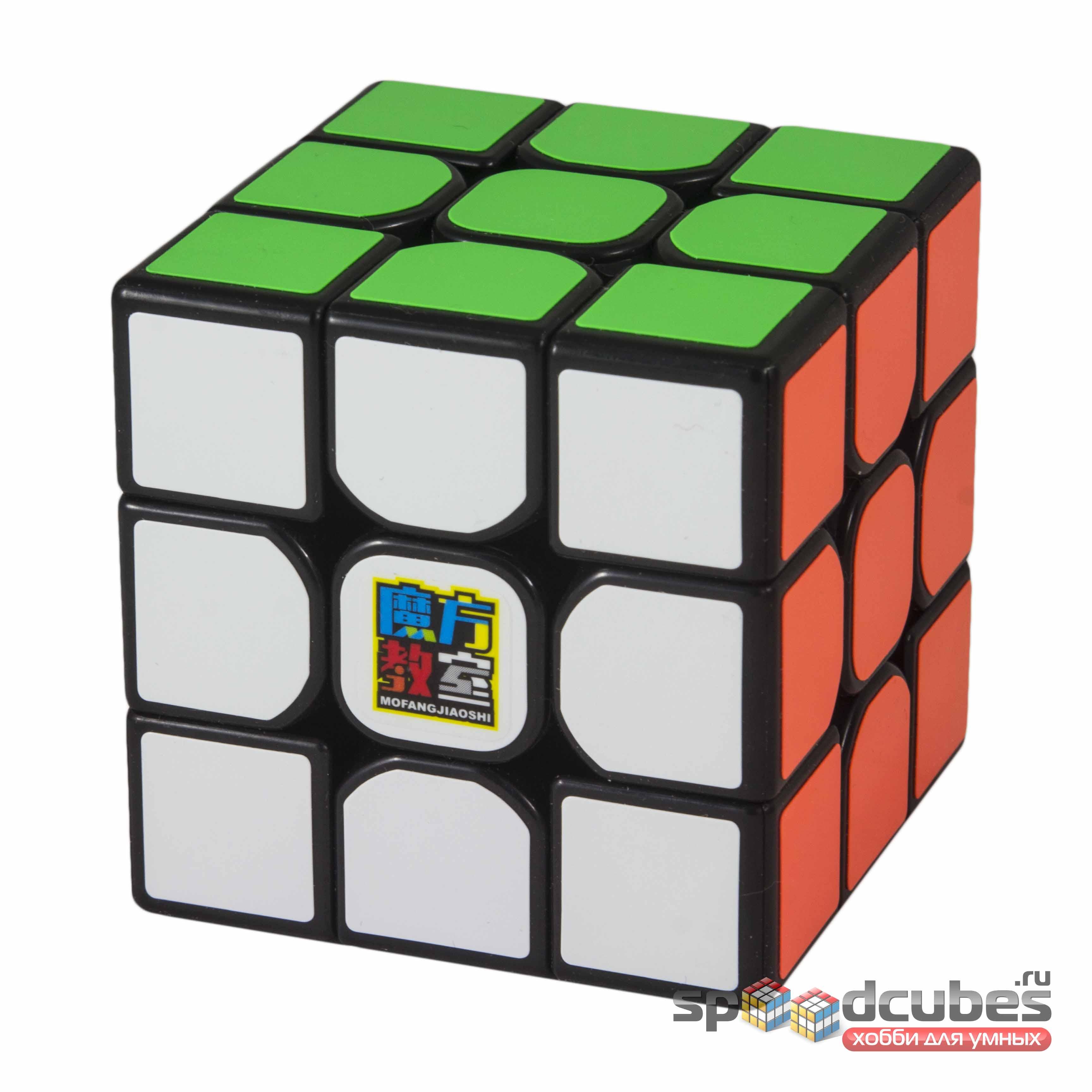 Moyu 3x3x3 Mofangjiaoshi Mf3rs Black 2
