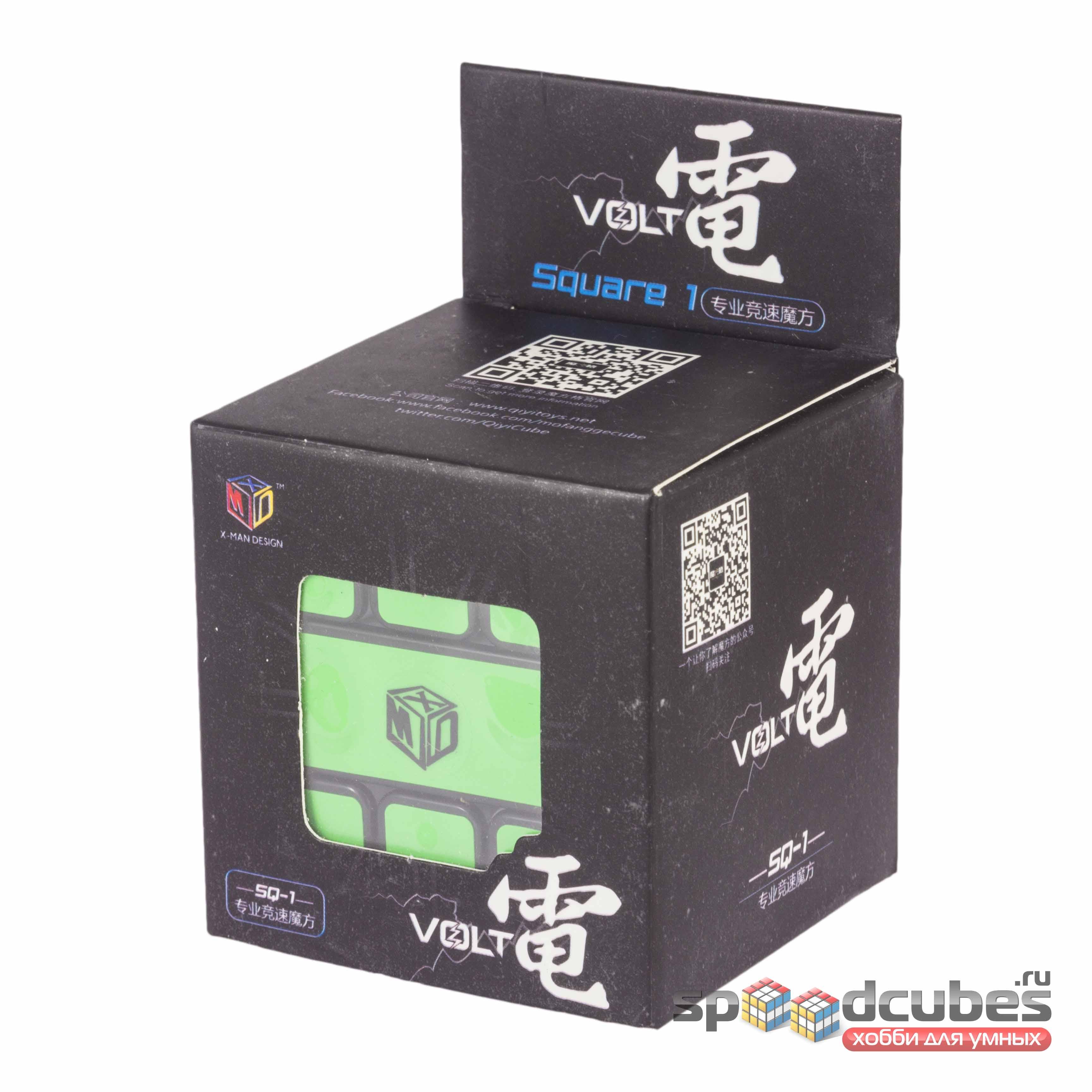 QiYi (MoFangGe) X Man Volt Square 1 Black 1