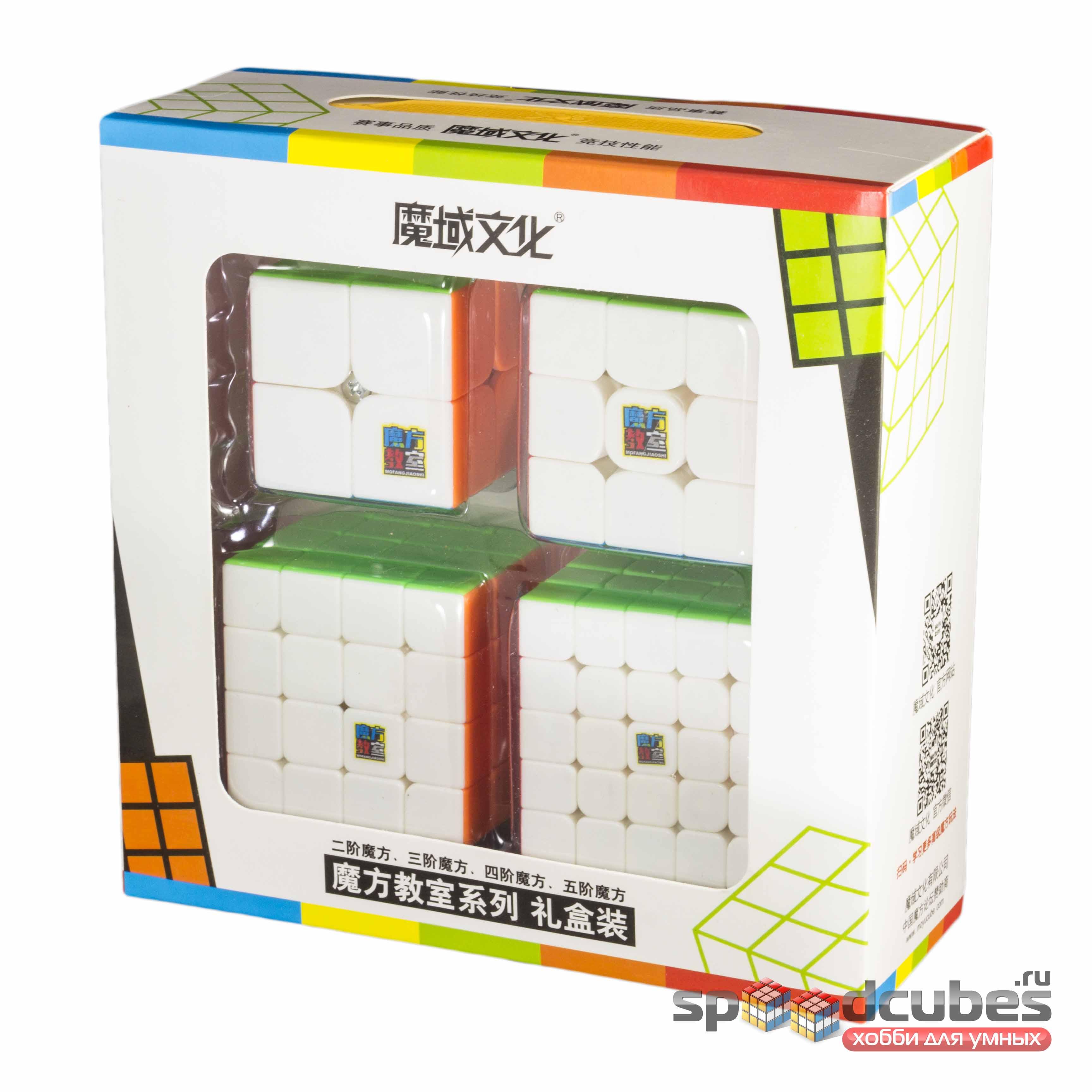 MoYu Cubing Classroom (набор Moyu MF2s, MF3rs, MF4s, MF5s) 1