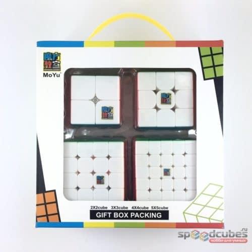 Moyu Mofangjiaoshi Gift Set Nabor 6