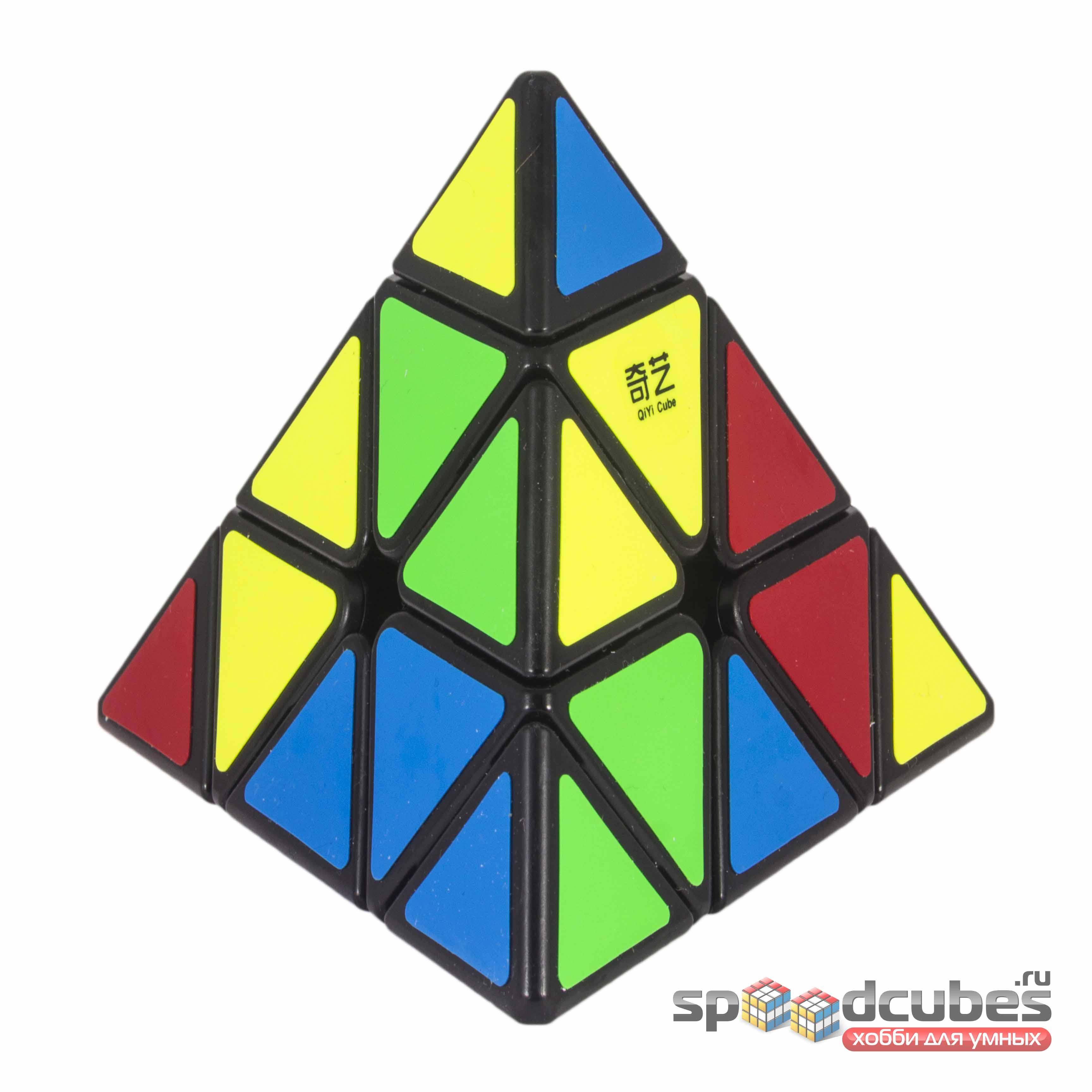 QiYi (MoFangGe) Qiming A Pyraminx Black 3