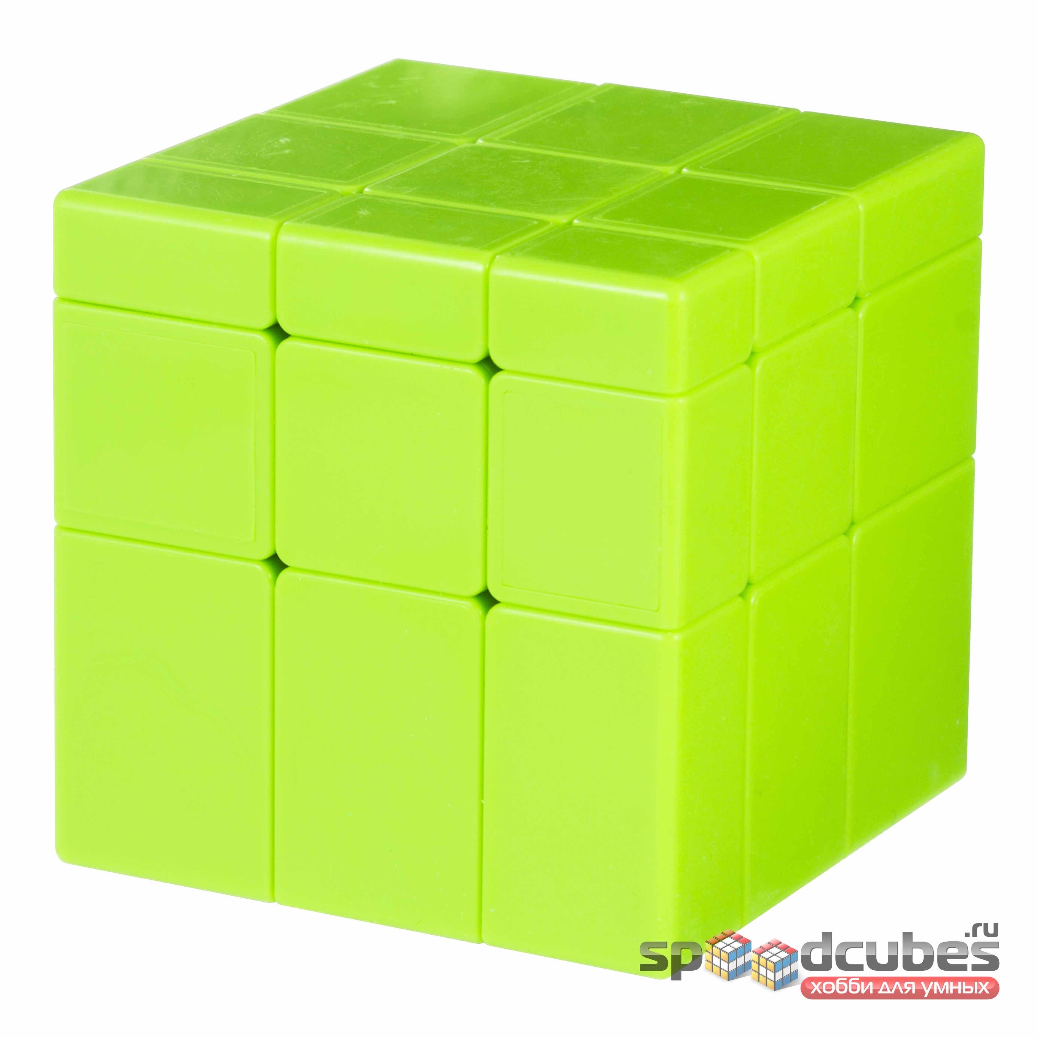 QiYi MoFangGe 3x3 Green Mirror Cube 2