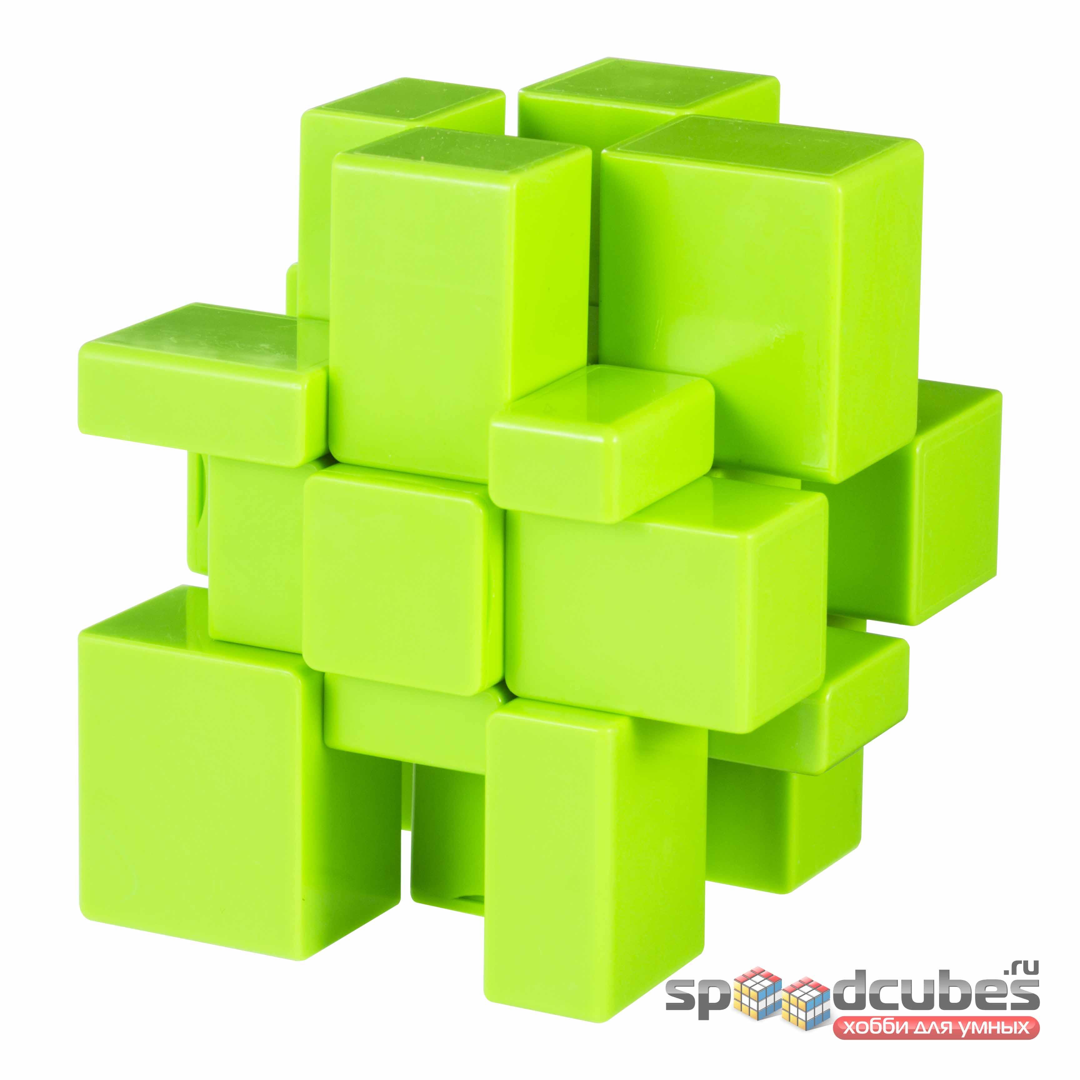 QiYi MoFangGe 3x3 Green Mirror Cube 3