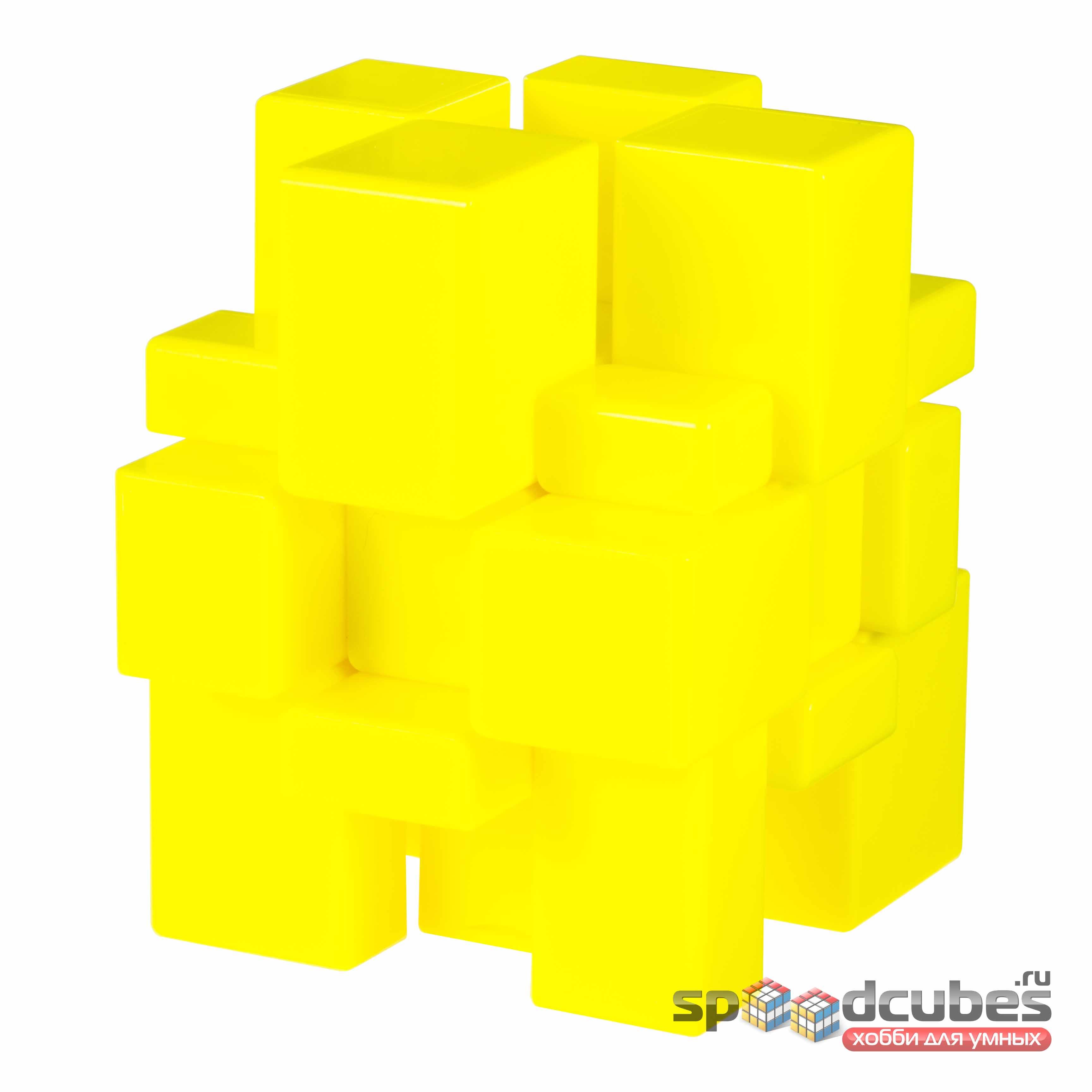 QiYi MoFangGe 3x3 Yellow Mirror Cube 3