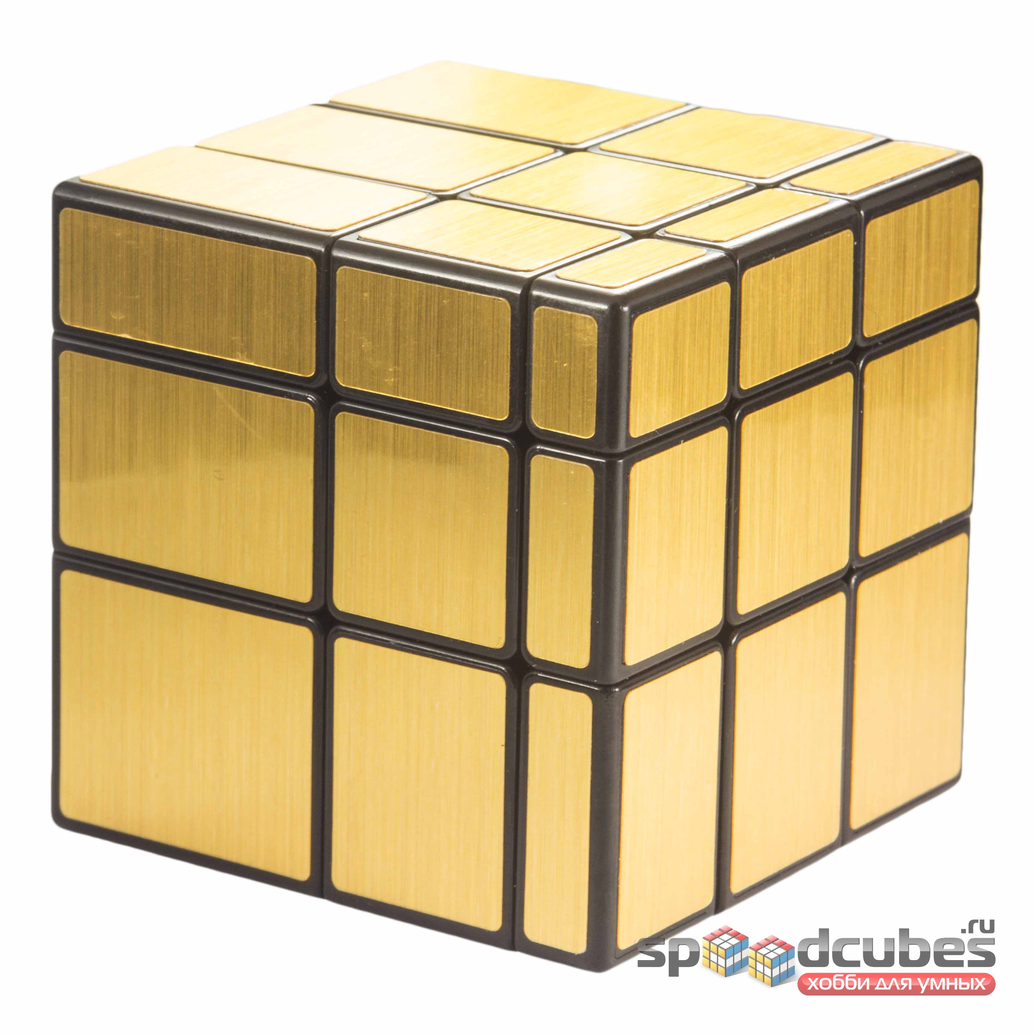 Qiyi Mofangge Mirror Cube Gold 1
