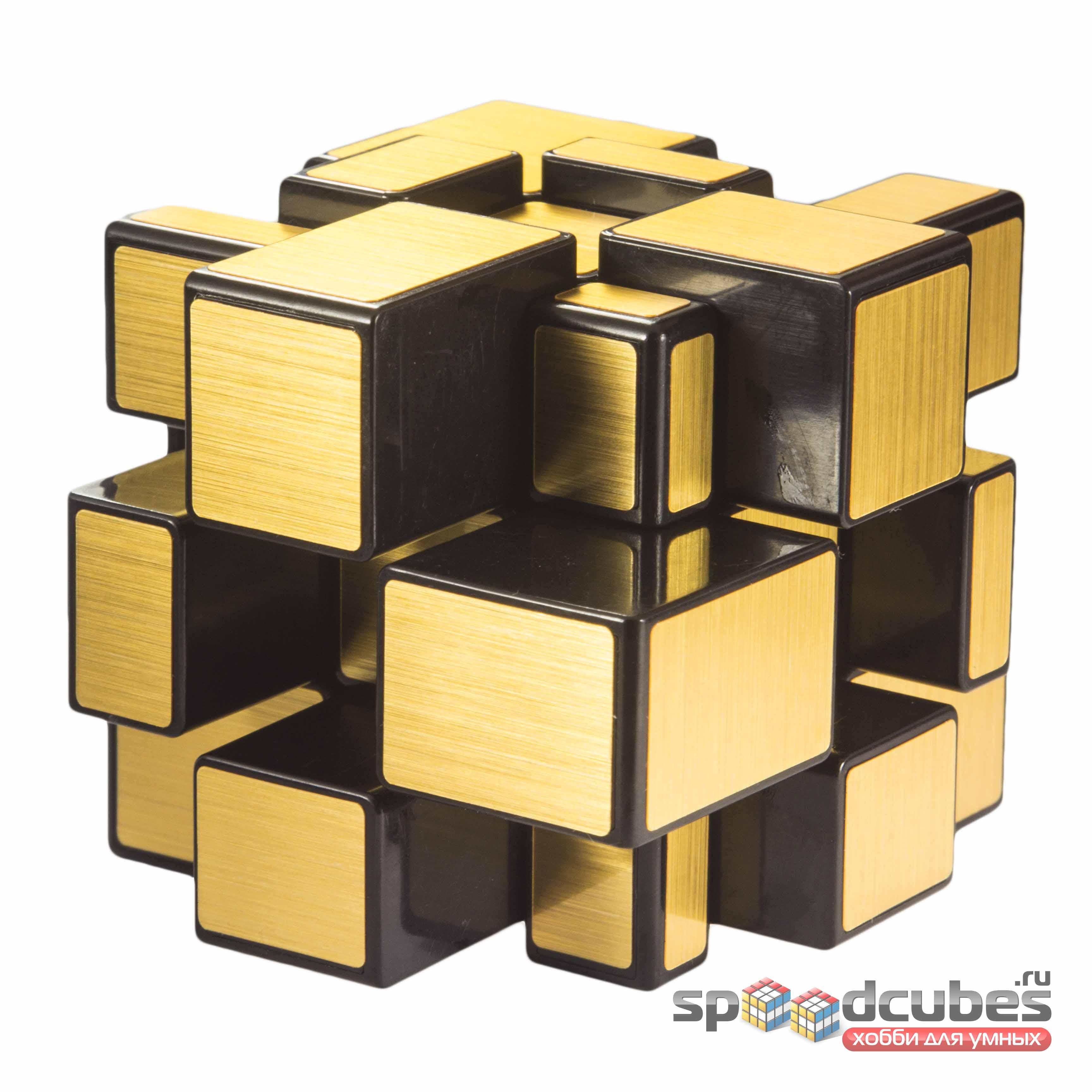 Qiyi Mofangge Mirror Cube Gold 2