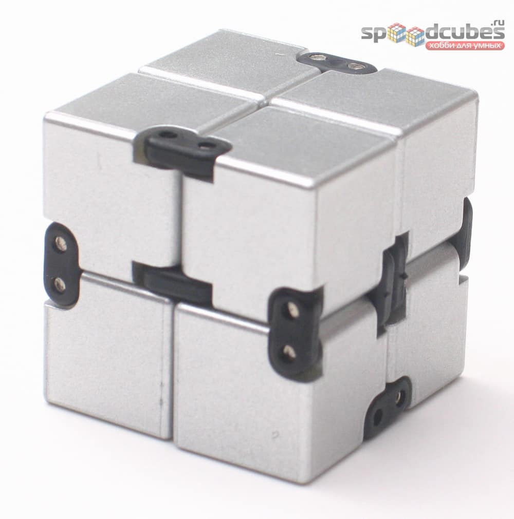 Infinity Cube Silver 1