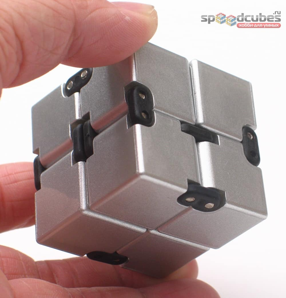 Infinity Cube Silver
