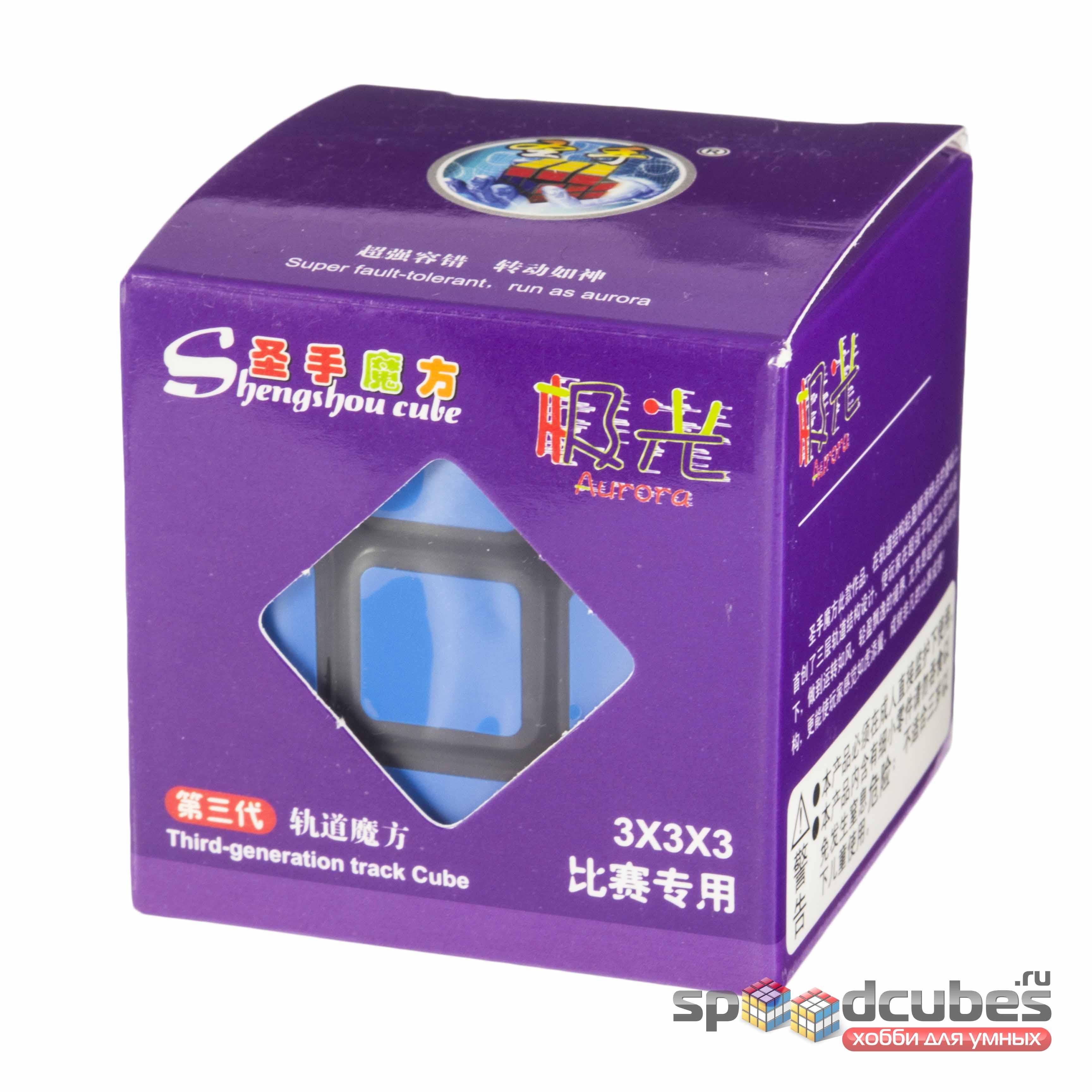 Shengshou 3x3x3 Aurora Black 1