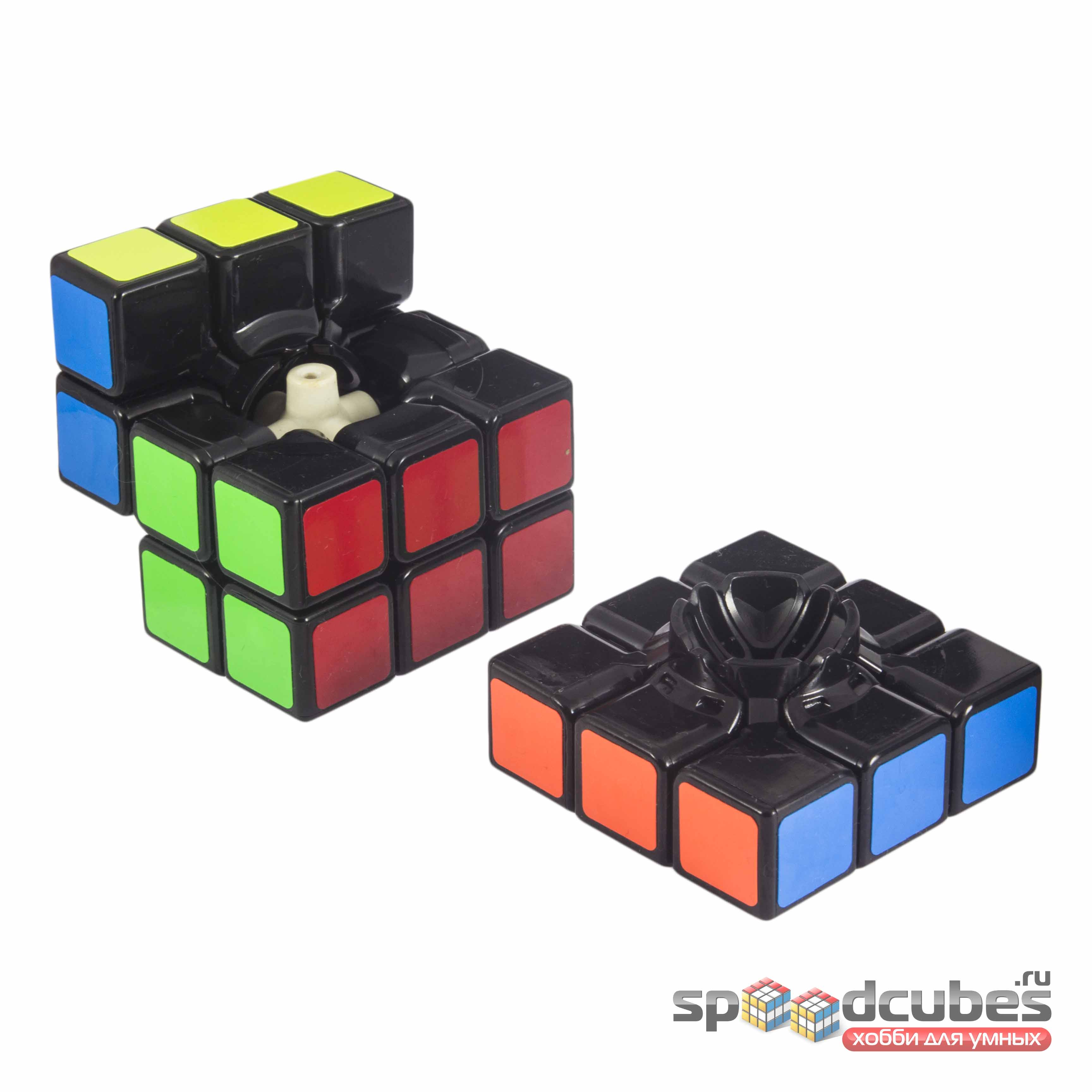 Shengshou 3x3x3 Aurora Black 4