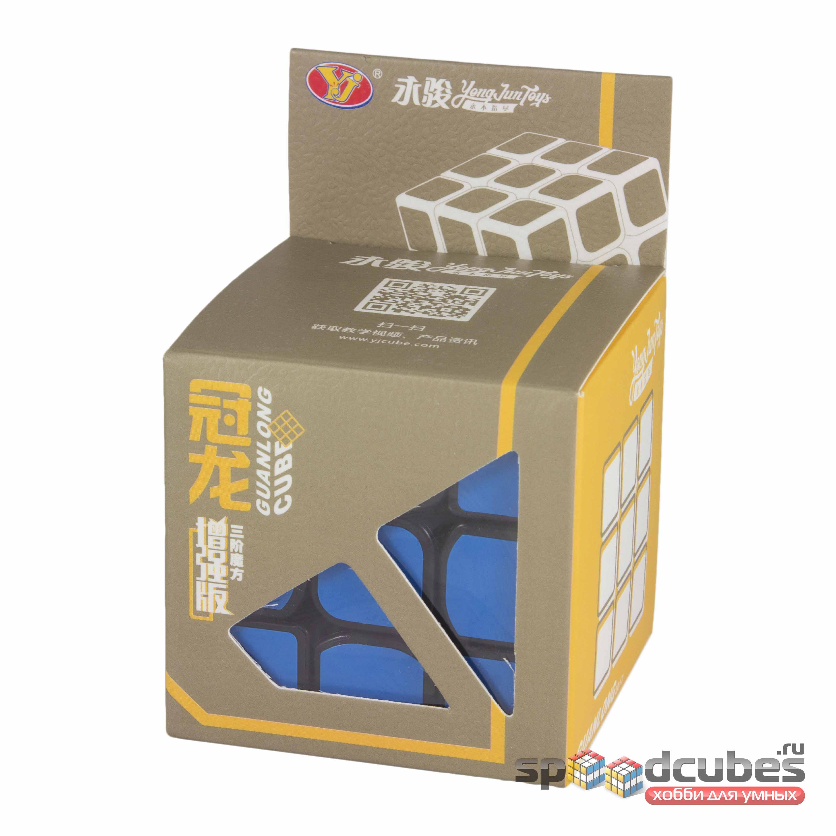 Moyu (yj) 3x3x3 Guanlong Plus Black 1