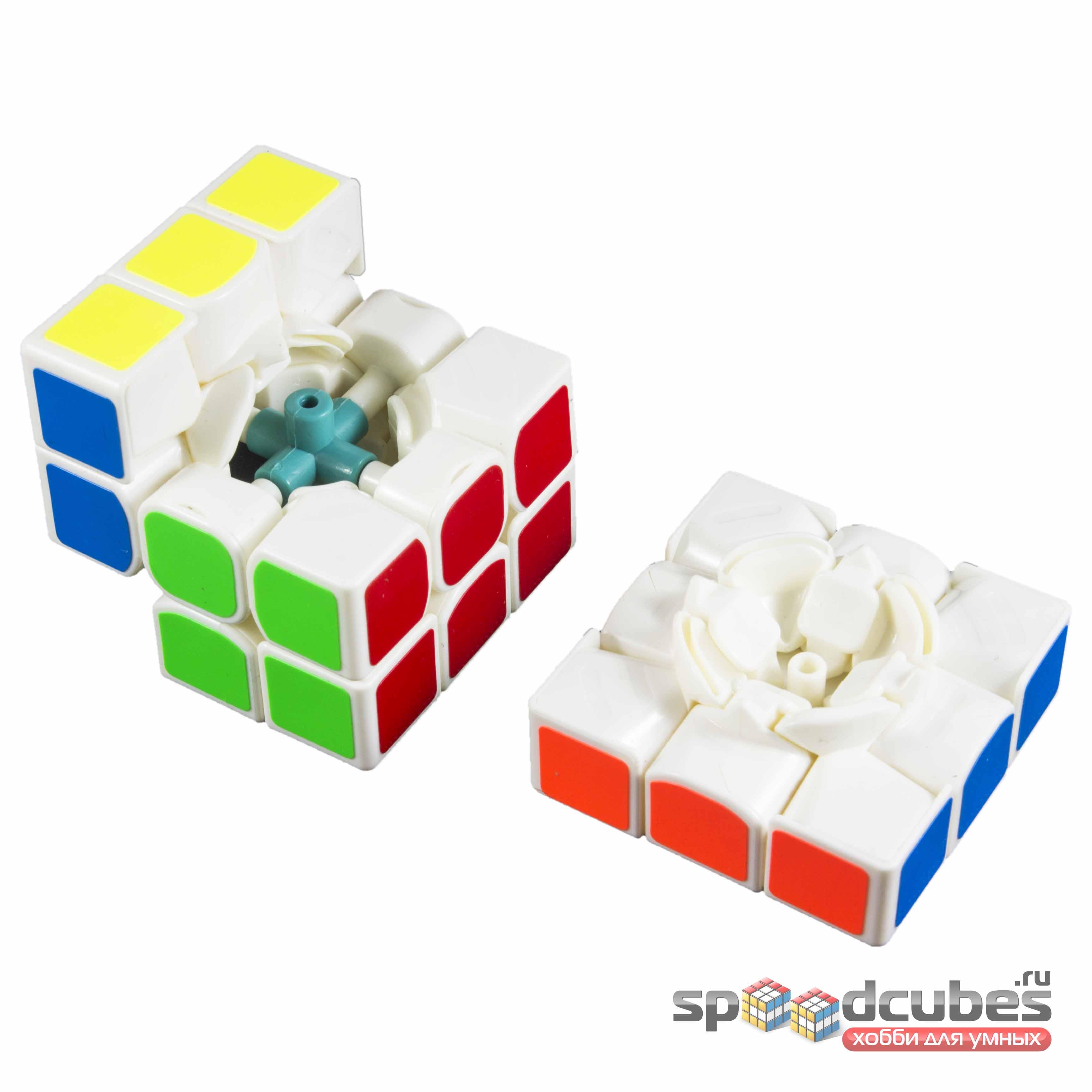 Moyu Yj 3x3x3 Guanlong Plus White 2
