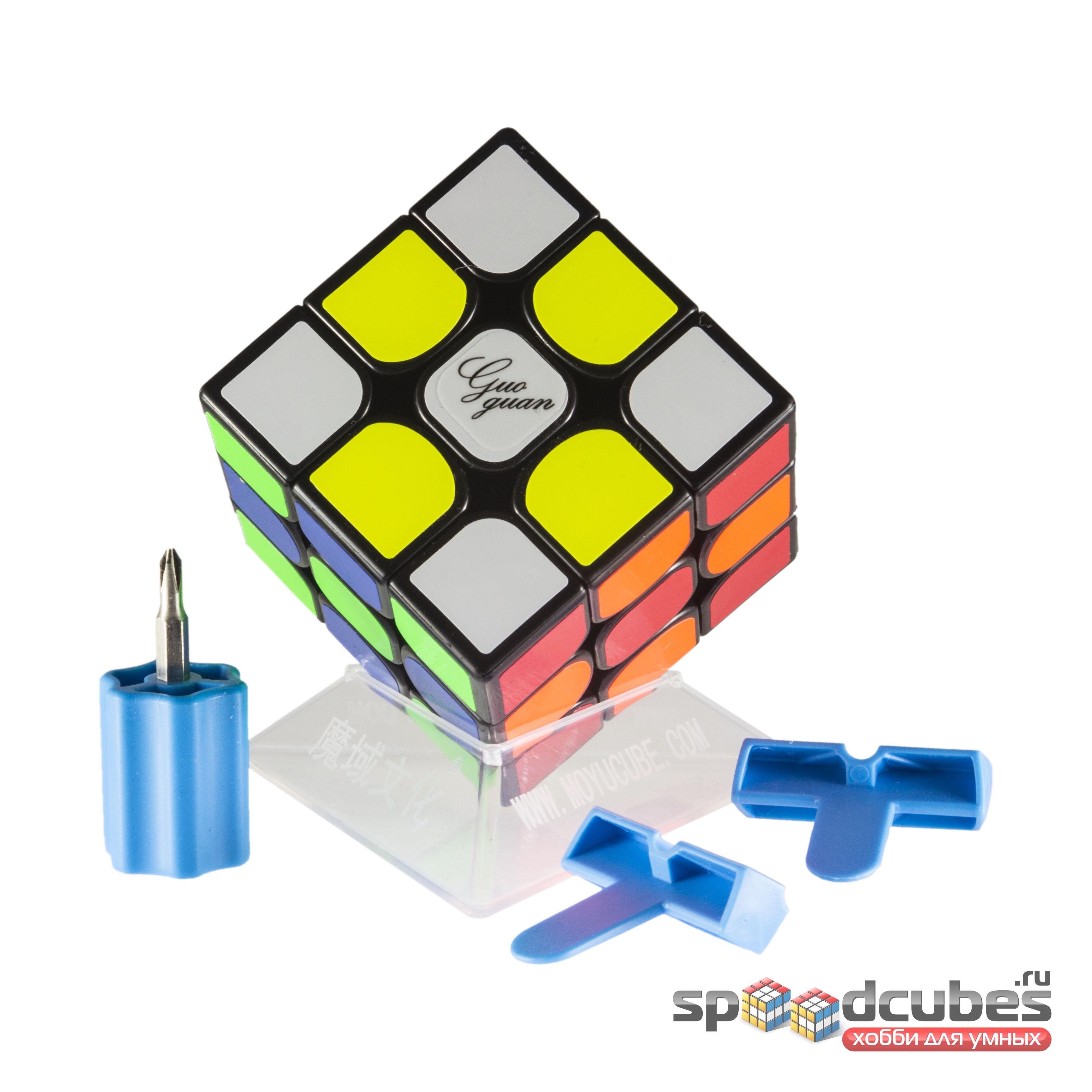 Moyu 3x3x3 Guoguan Yuexiao Pro Black 4
