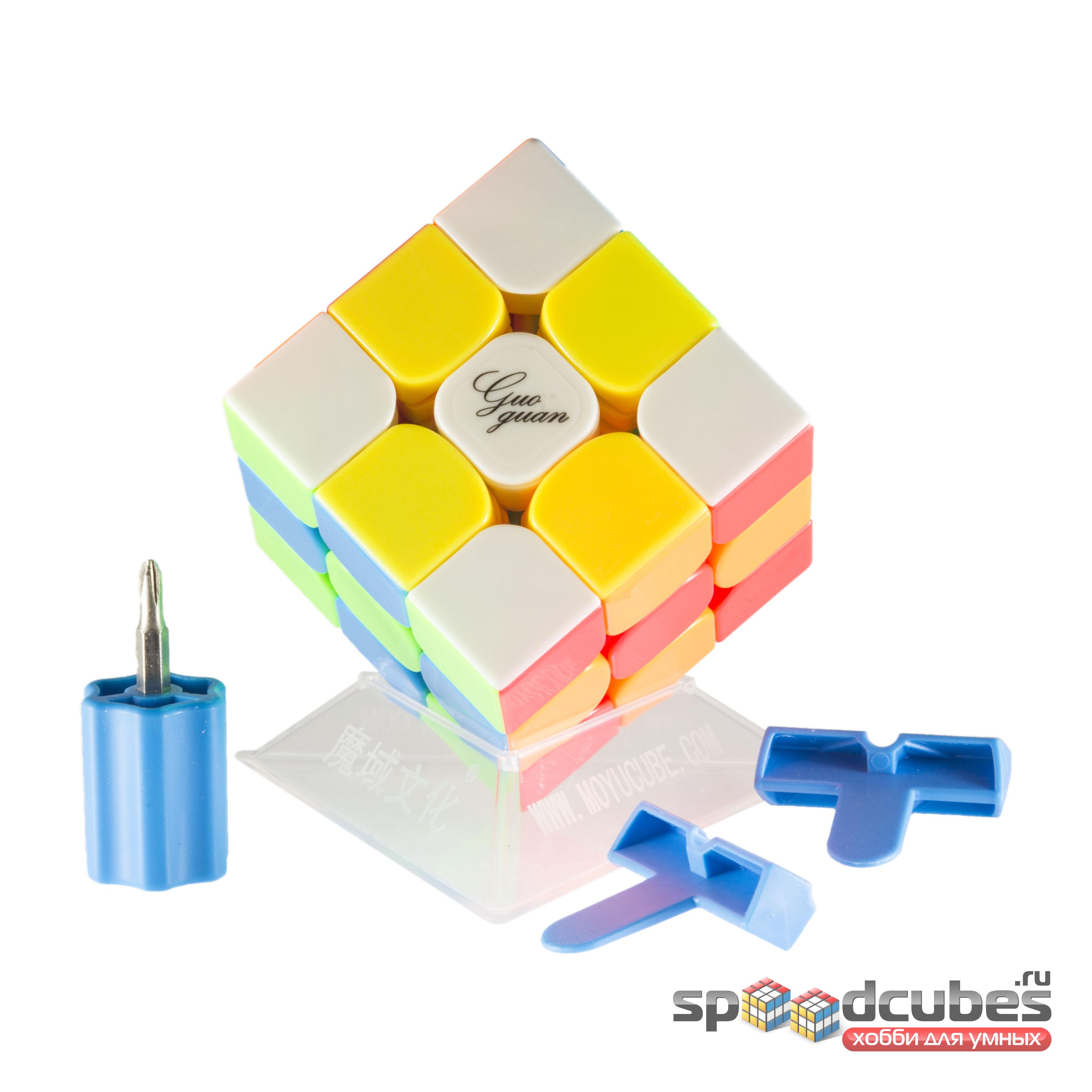 Moyu 3x3x3 Guoguan Yuexiao Pro Color 4