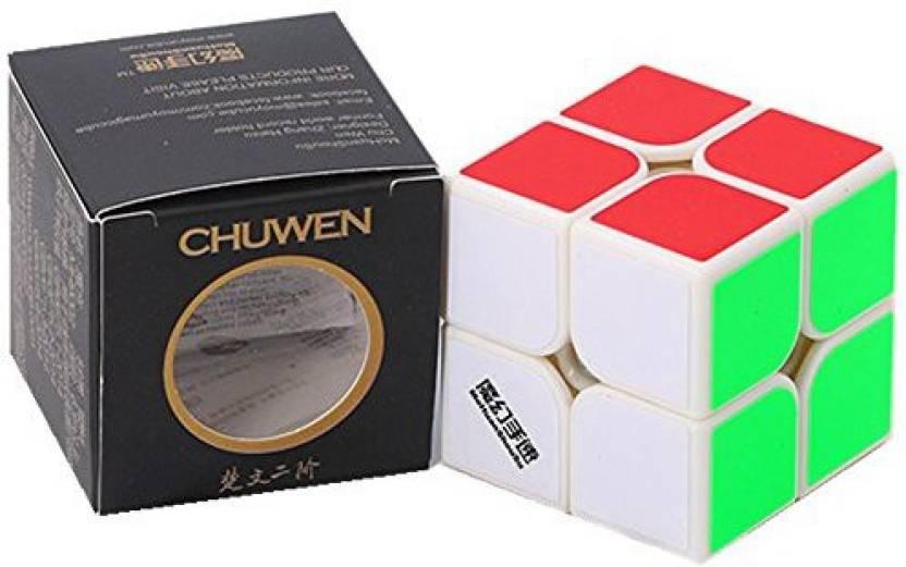 1 Moyu Mohuanshousu Chuwen 2x2x2 Speed Cube White Chuwen 2x2 Original Imaevs25jsfht46t