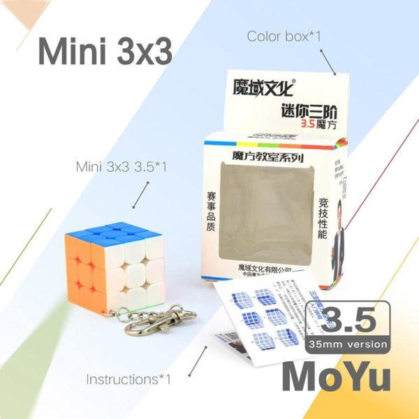 Moyu 3x3 mofangjiaoshi 35 mm mini 1