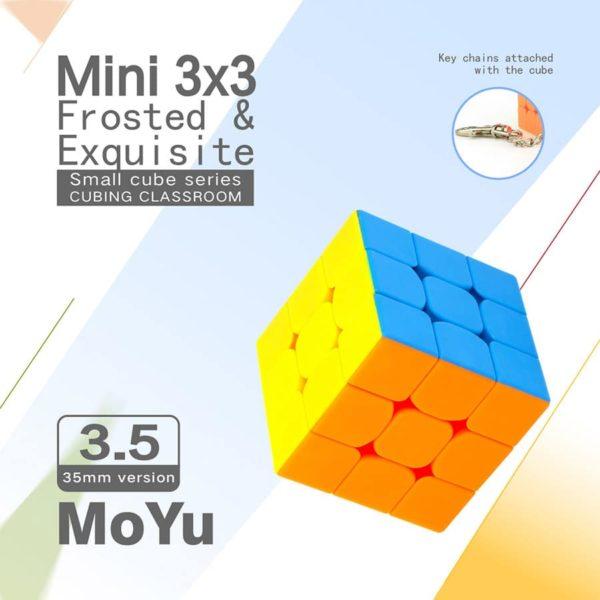 Moyu 3x3 mofangjiaoshi 35 mm mini 2