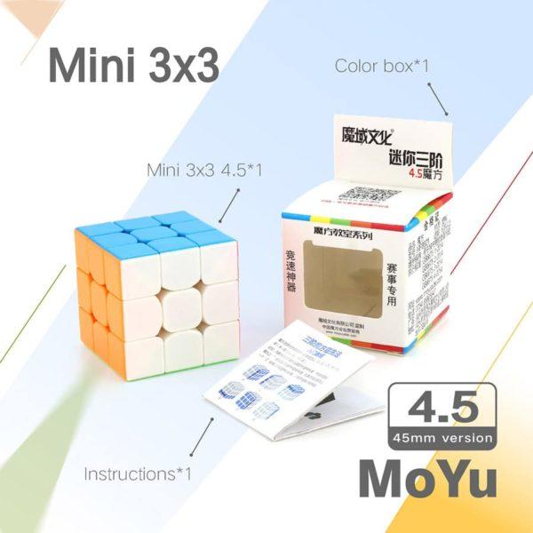 Moyu 3x3 mofangjiaoshi 45 mm mini 4
