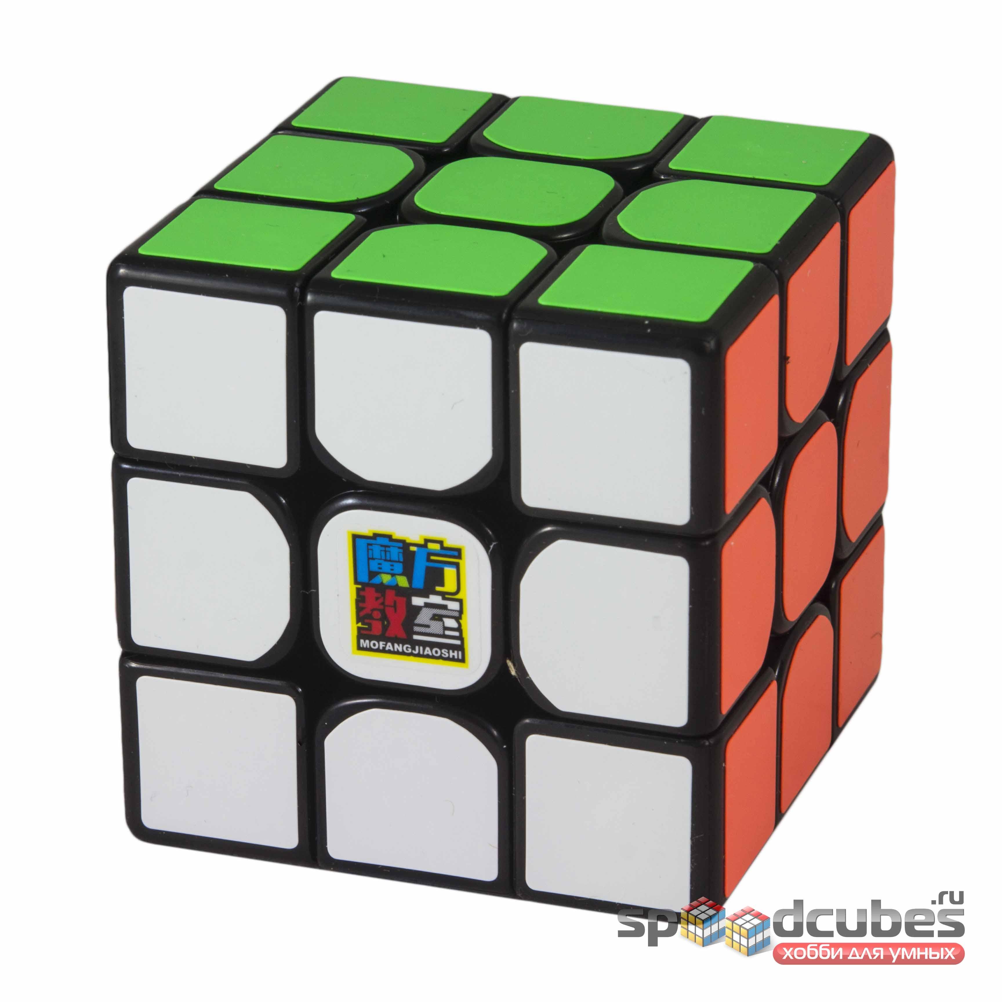 Moyu 3x3x3 Mofangjiaoshi Mf3rs2 Black 2