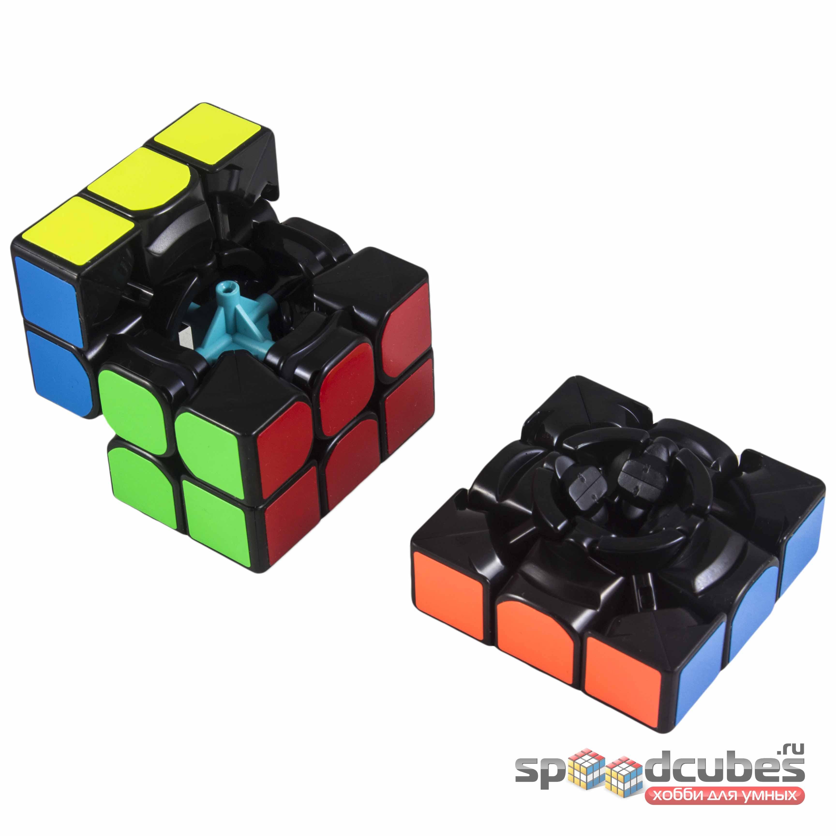 Moyu 3x3x3 Mofangjiaoshi Mf3rs2 Black 3