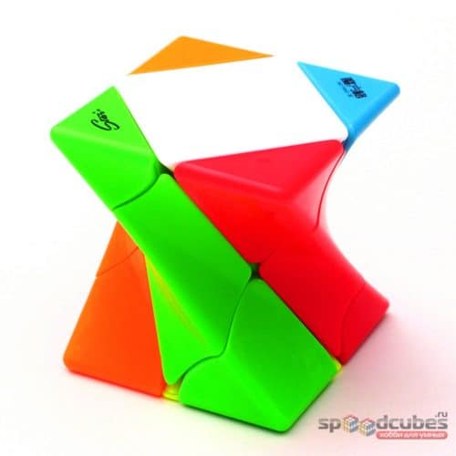 Qiyi Twisty Skewb Stickerless 1