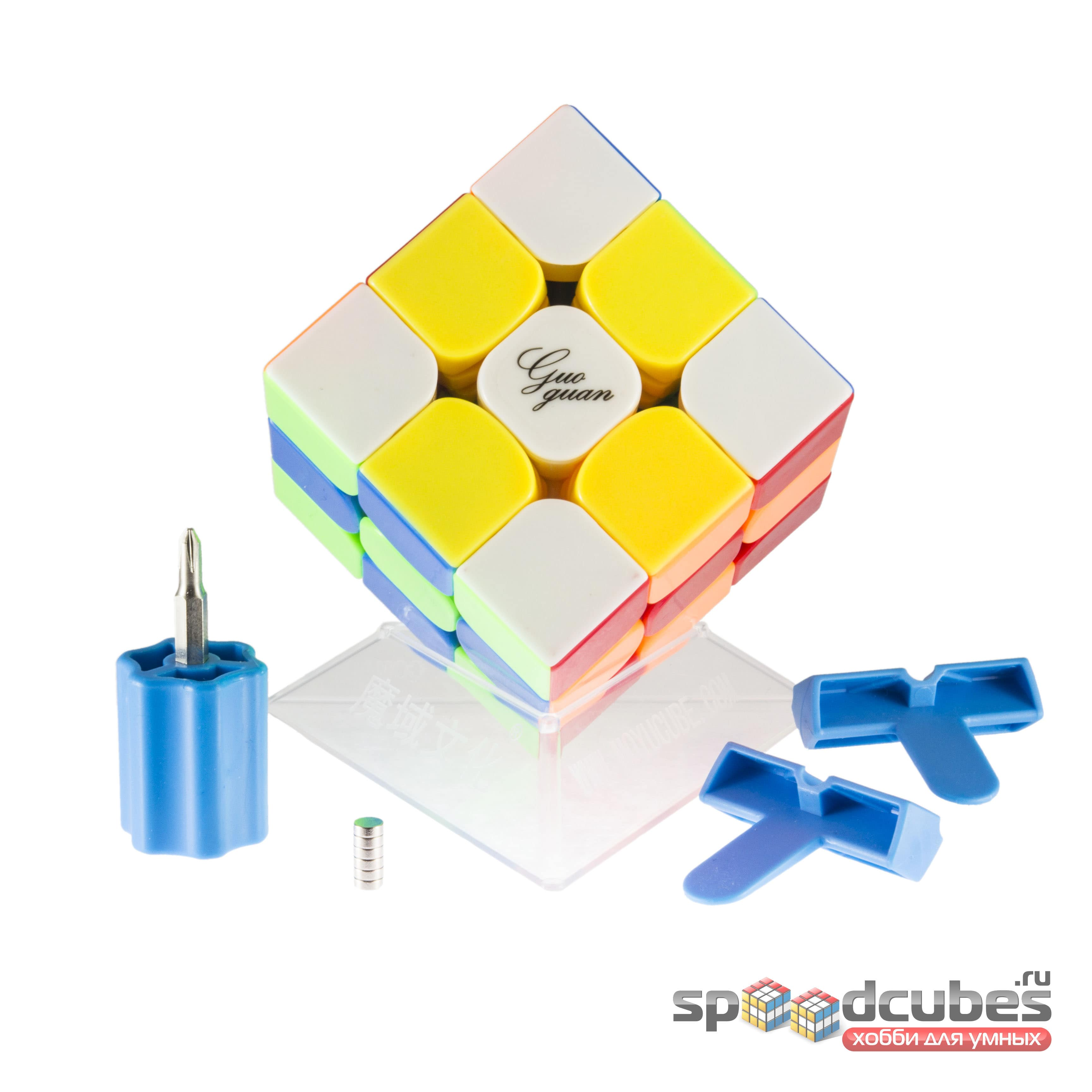 Moyu 3x3x3 Guoguan Yuexiao Pro M Color 3