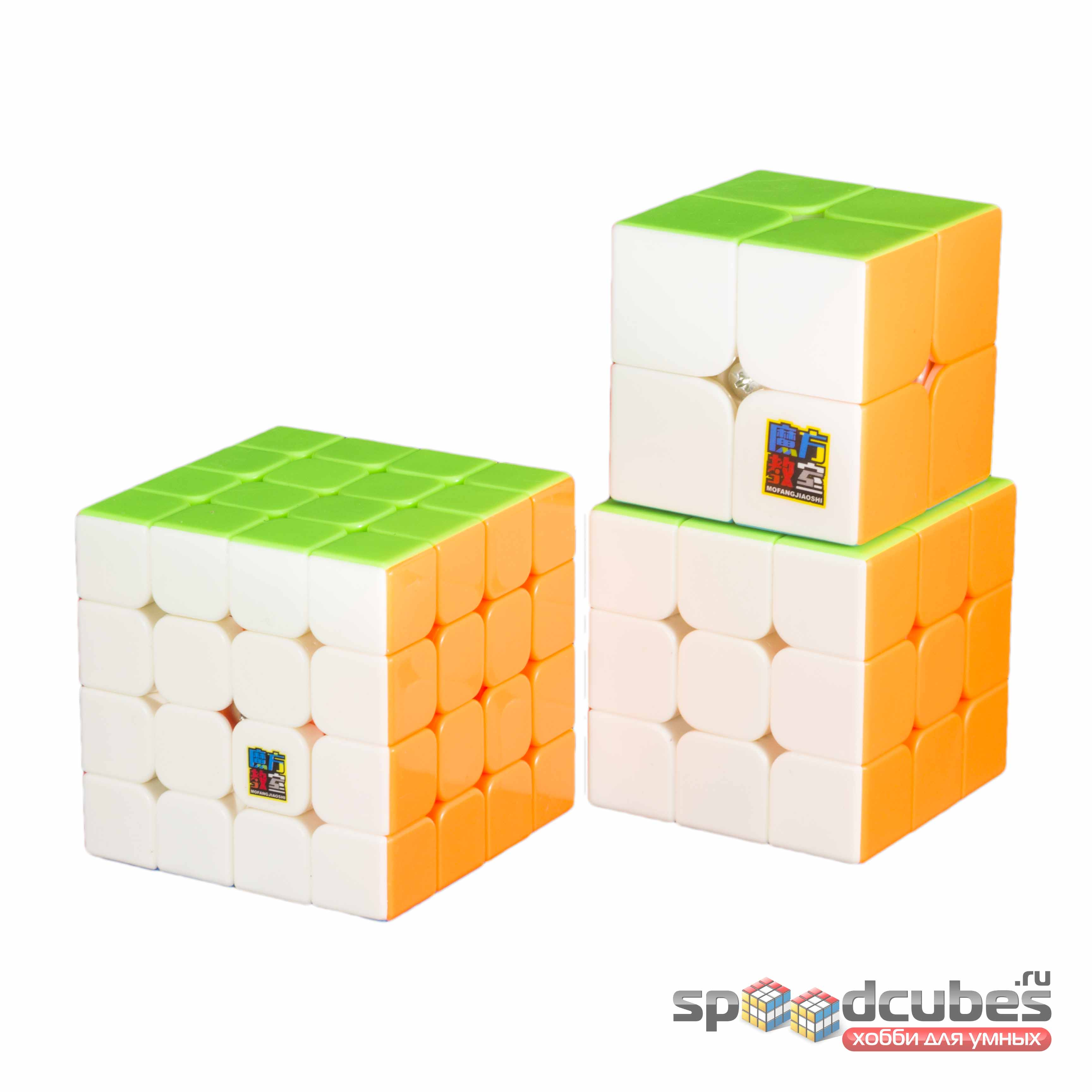 MoYu Cubing Classroom Mini (набор Moyu MF2s, MF3s, MF4s)