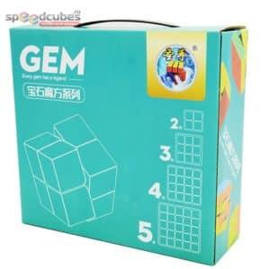 ShengShou GEM Gift Box (набор кубов 2х2, 3х3, 4х4, 5х5)