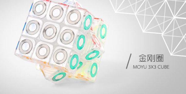 moyu 3x3 mofangjiaoshi crystal ring 3