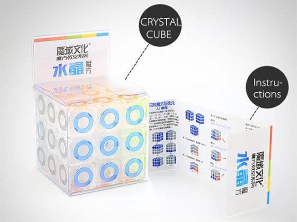 moyu 3x3 mofangjiaoshi crystal ring 4