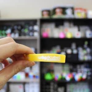 Cиликоновый браслет Я СПИДКУБЕР фирменный  (жёлтый)