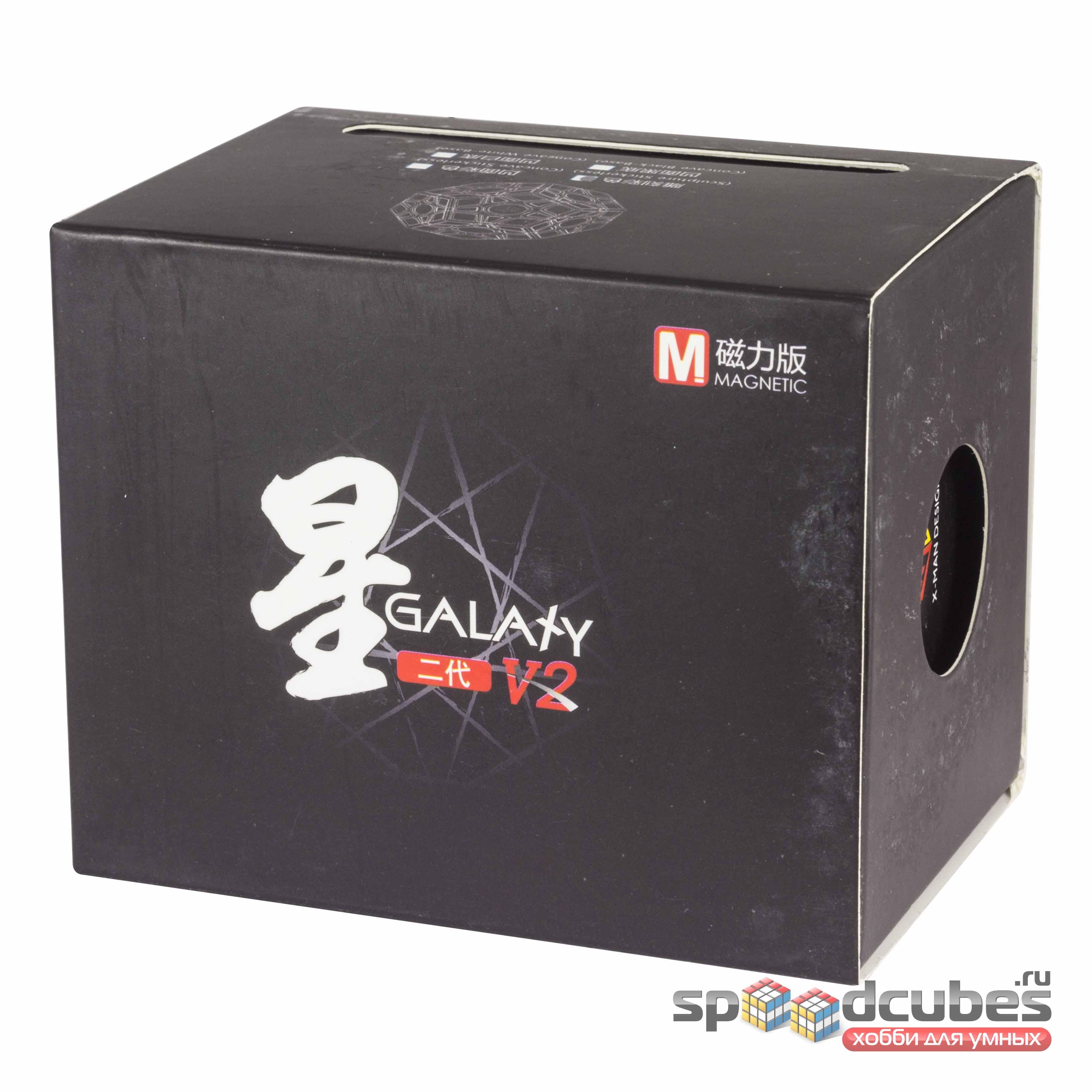 QiYi (MoFangGe) X Man Galaxy Megaminx V2 M (цв) 1