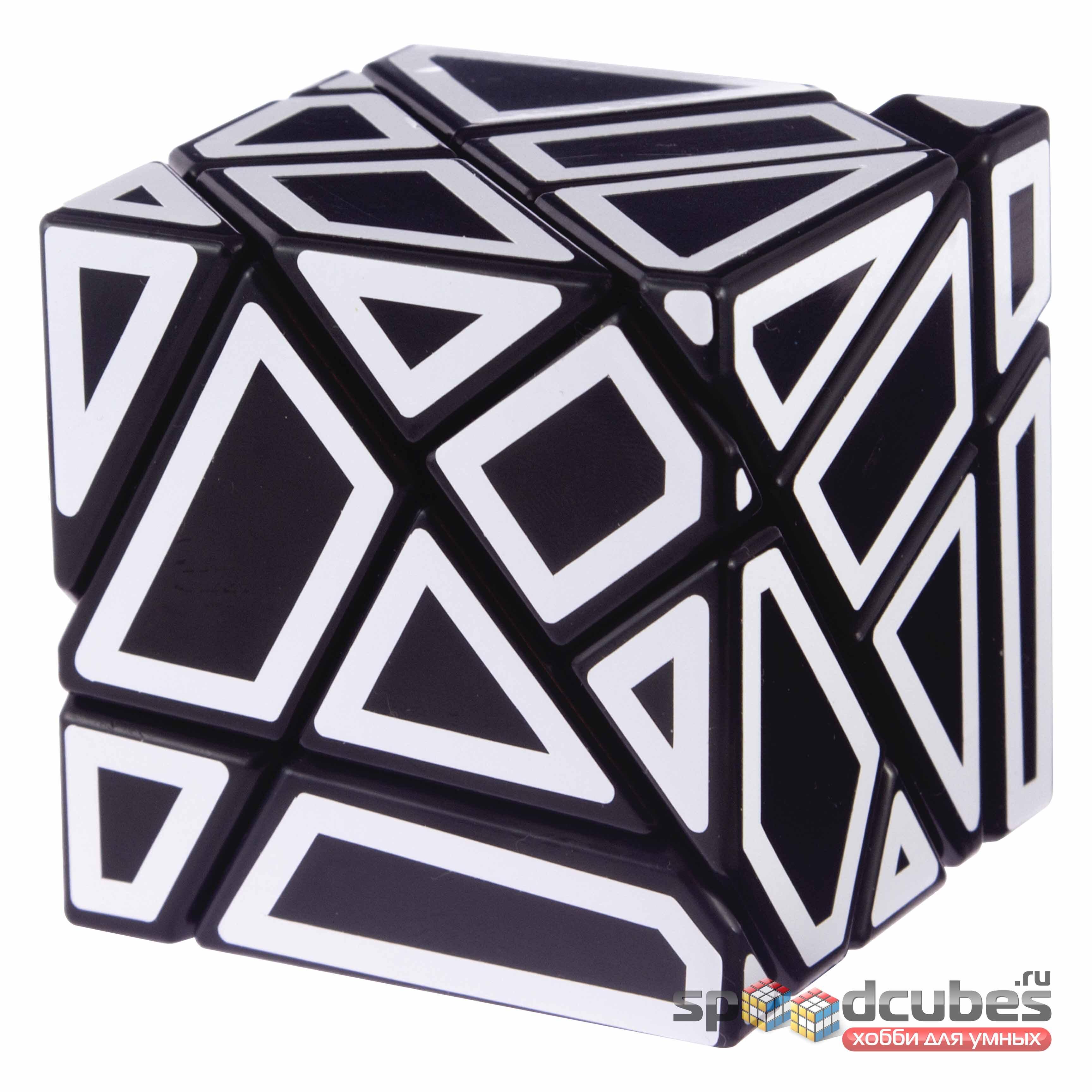 Ninja Ghost Cube (M Stckers)